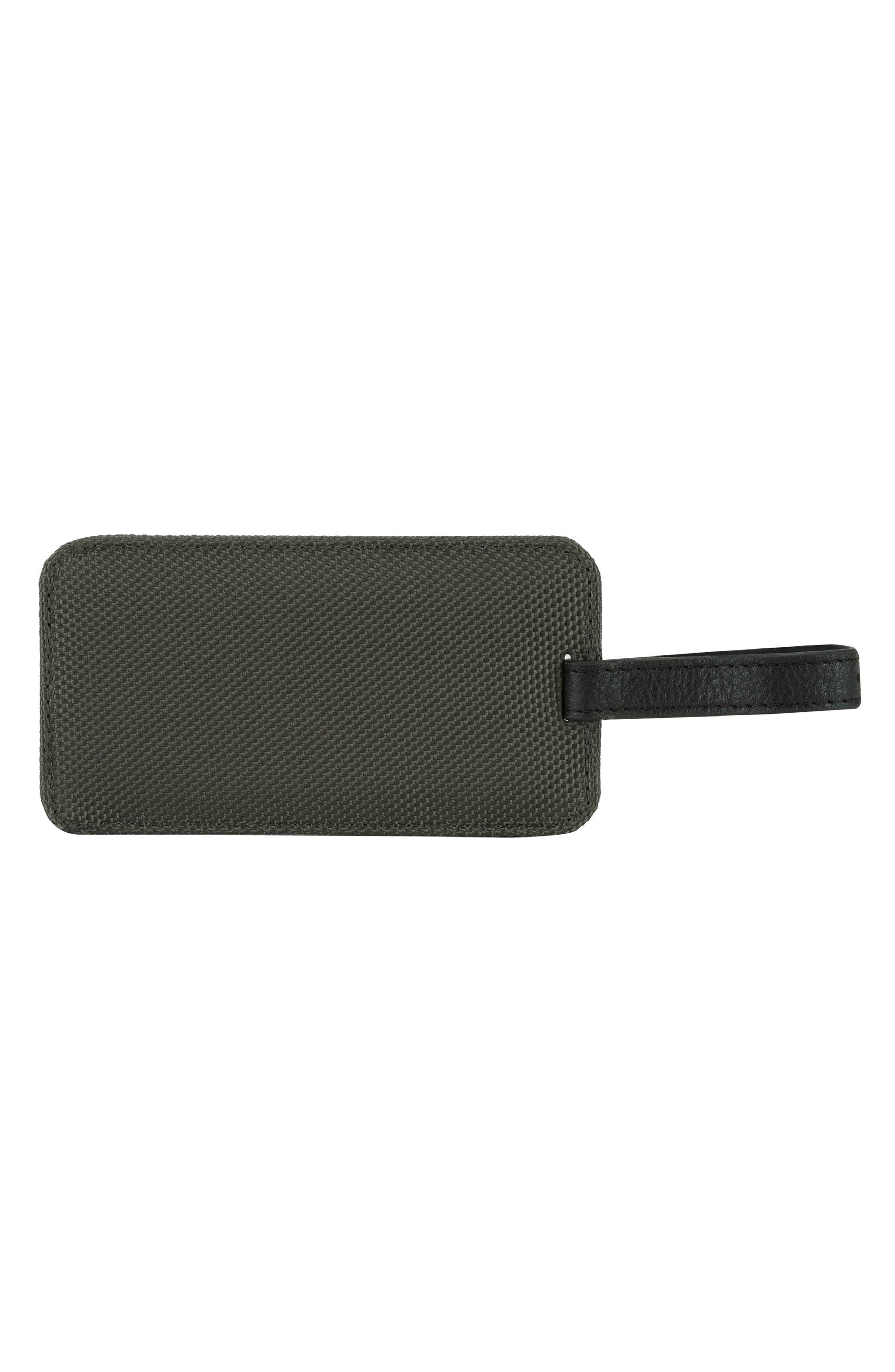 Luggage Tag,                         Main,                         color, Black