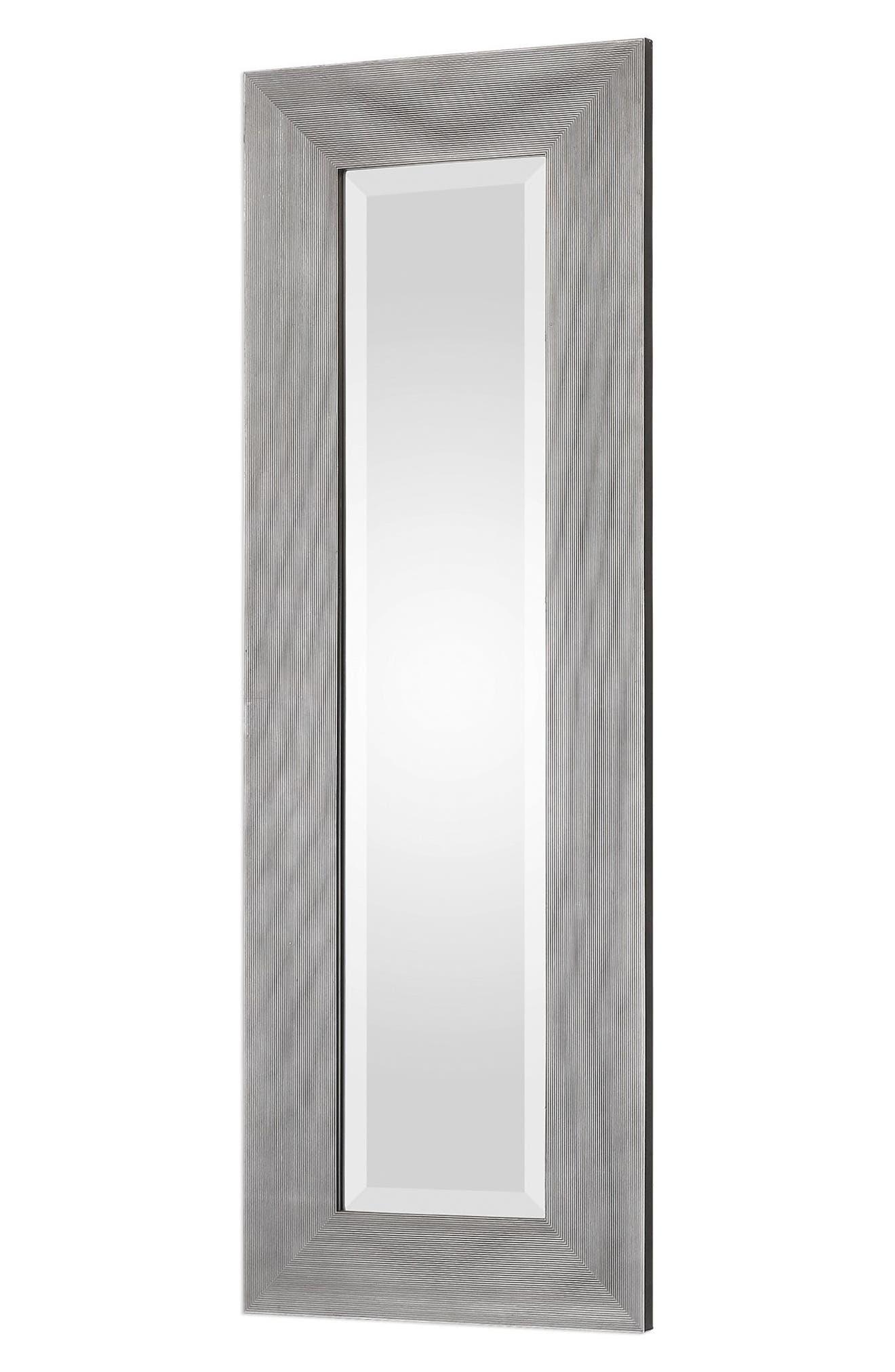 Maldon Set of 2 Wall Mirrors,                             Alternate thumbnail 3, color,                             Metallic Silver
