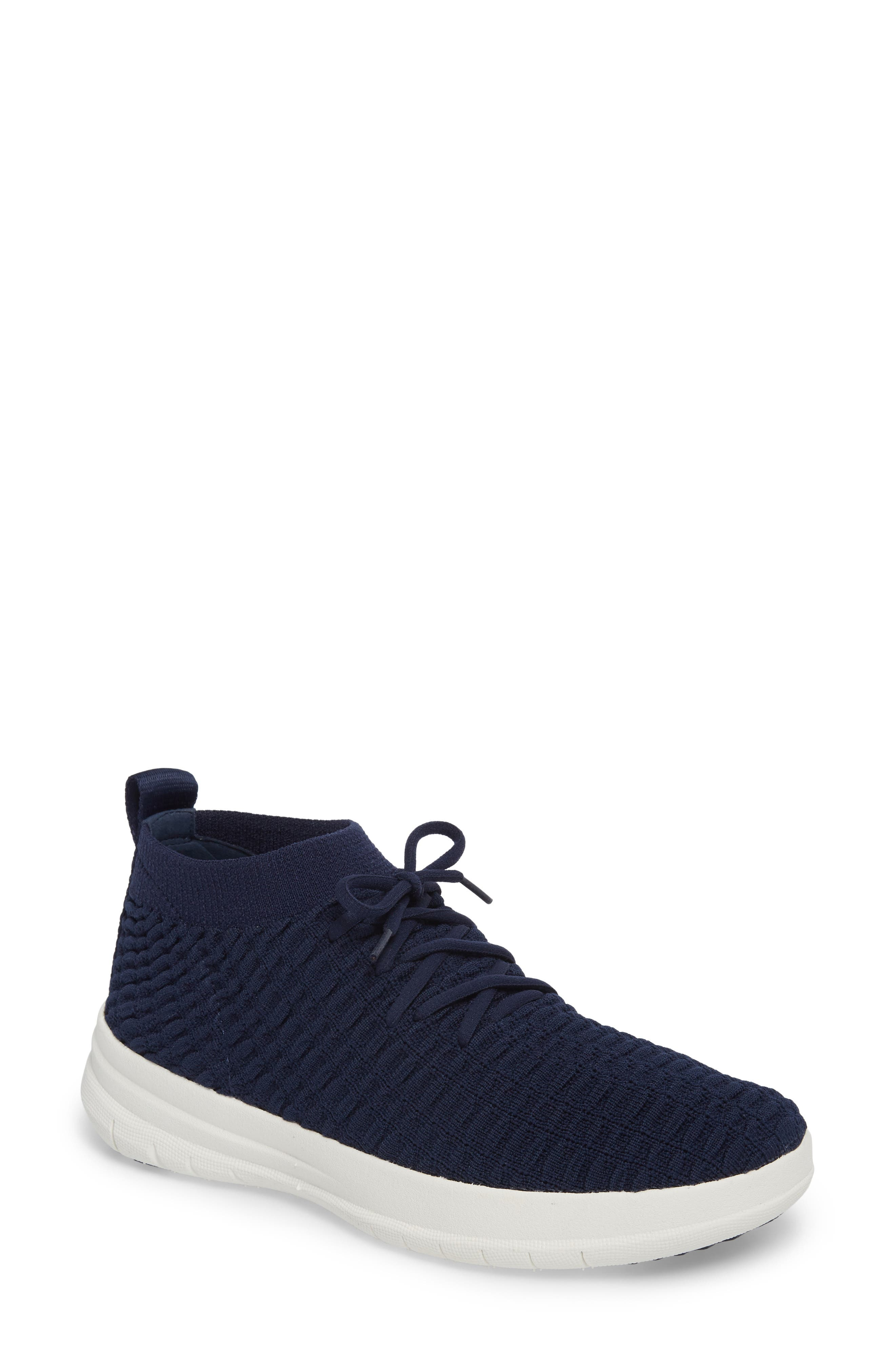 Uberknit<sup>™</sup> Slip-On High Top Sneaker,                             Main thumbnail 1, color,                             Midnight Navy