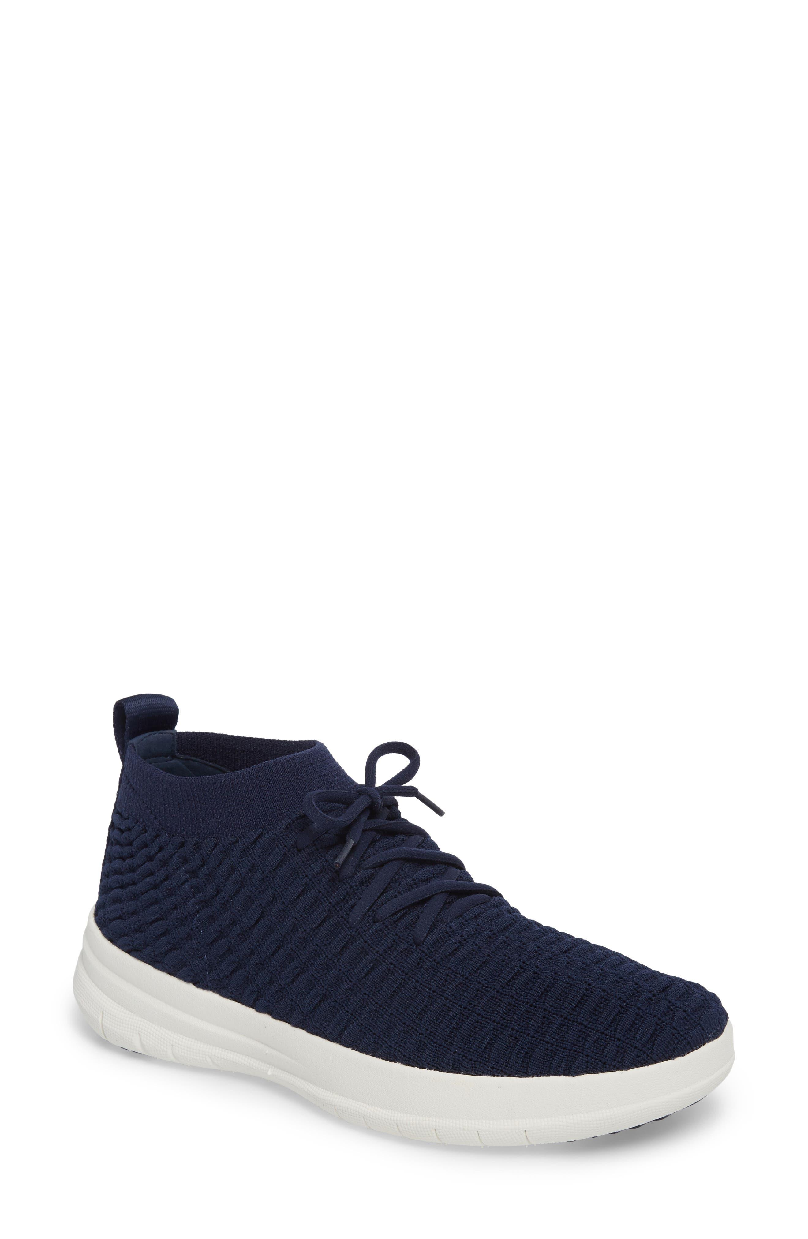 FitFlop Uberknit™ Slip-On High Top Sneaker (Women)