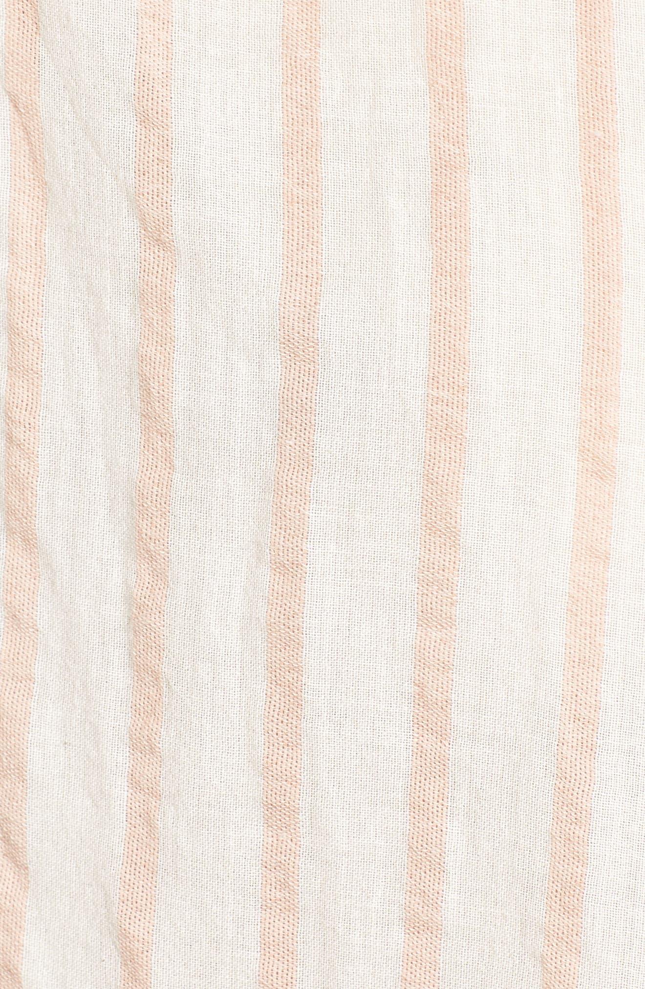 The Boyfriend Shirt,                             Alternate thumbnail 5, color,                             Gable Stripe