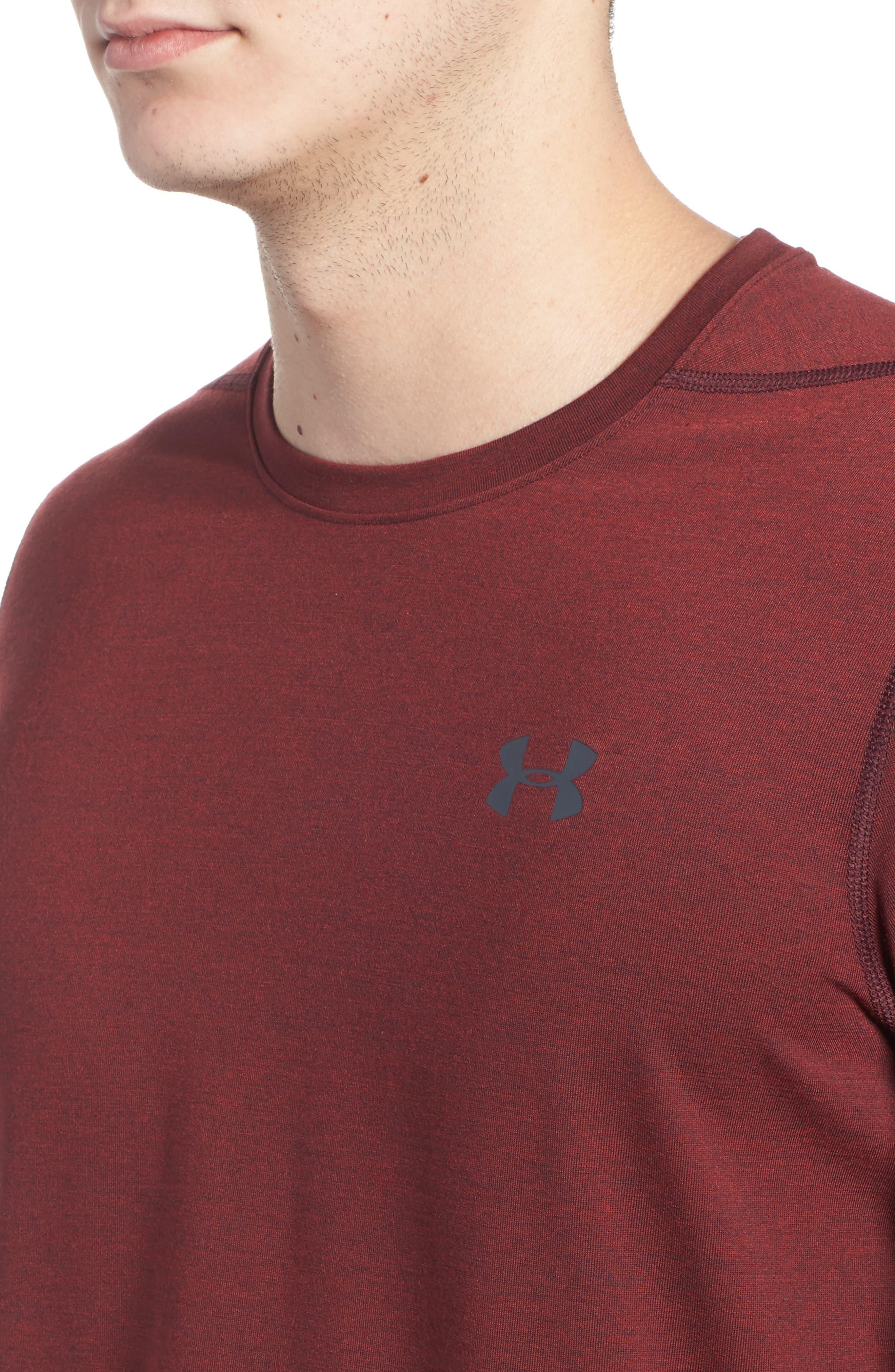 Alternate Image 4  - Under Armour Threadborne Siro 3C Twist T-Shirt