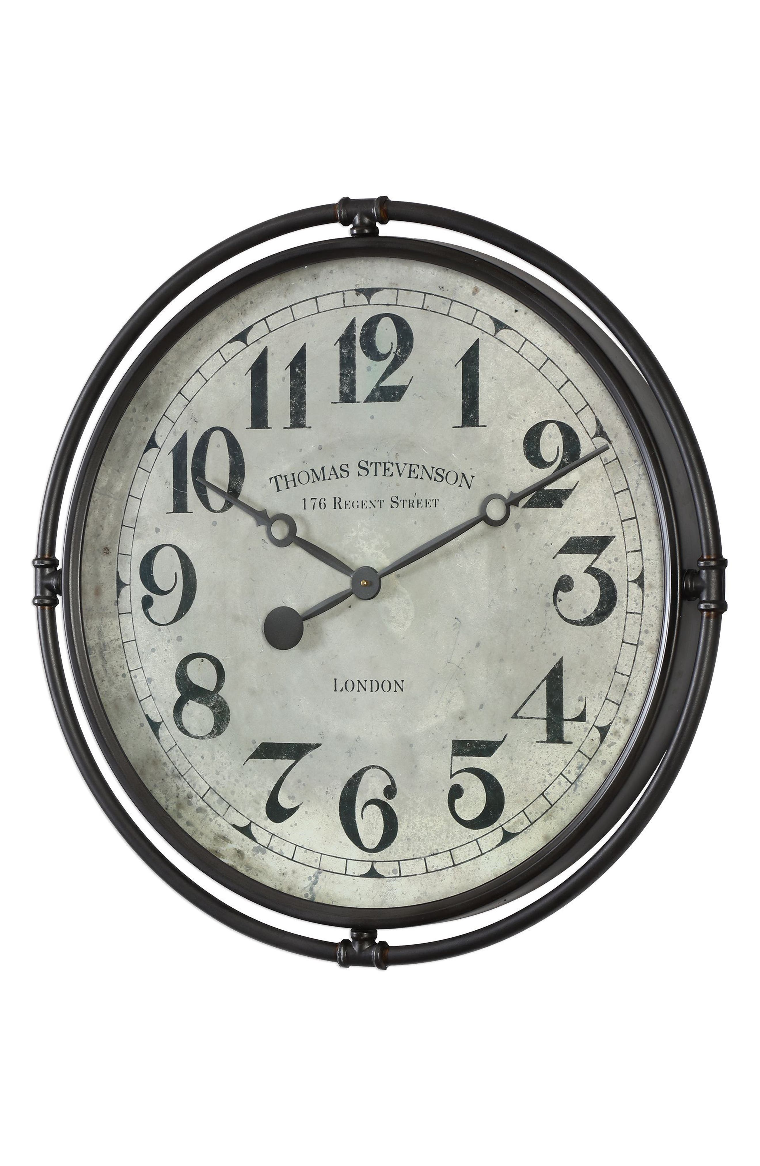 Alternate Image 3  - Uttermost Nakul Wall Clock