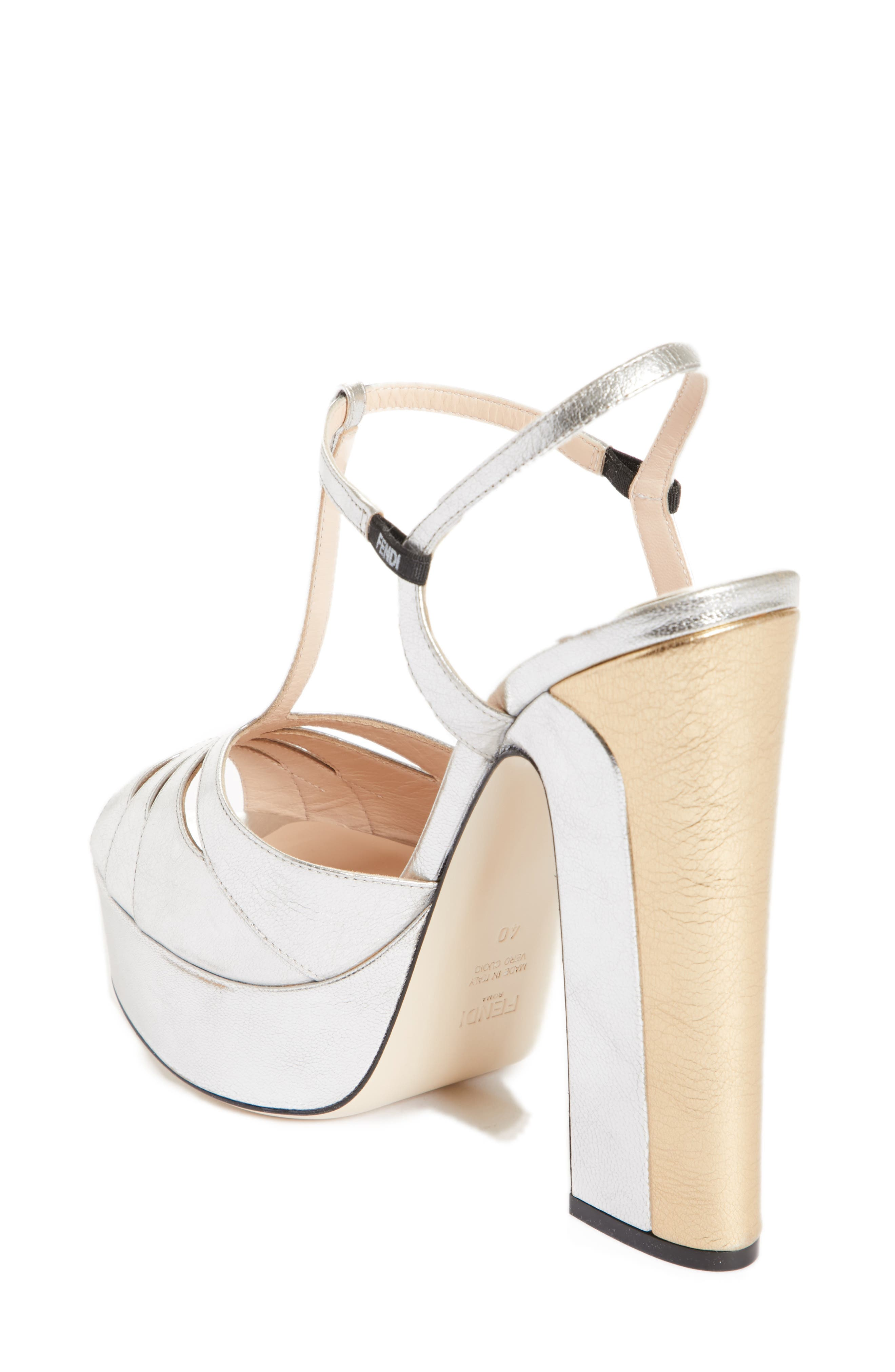 Alternate Image 2  - Fendi Duo Platform Sandal (Women)