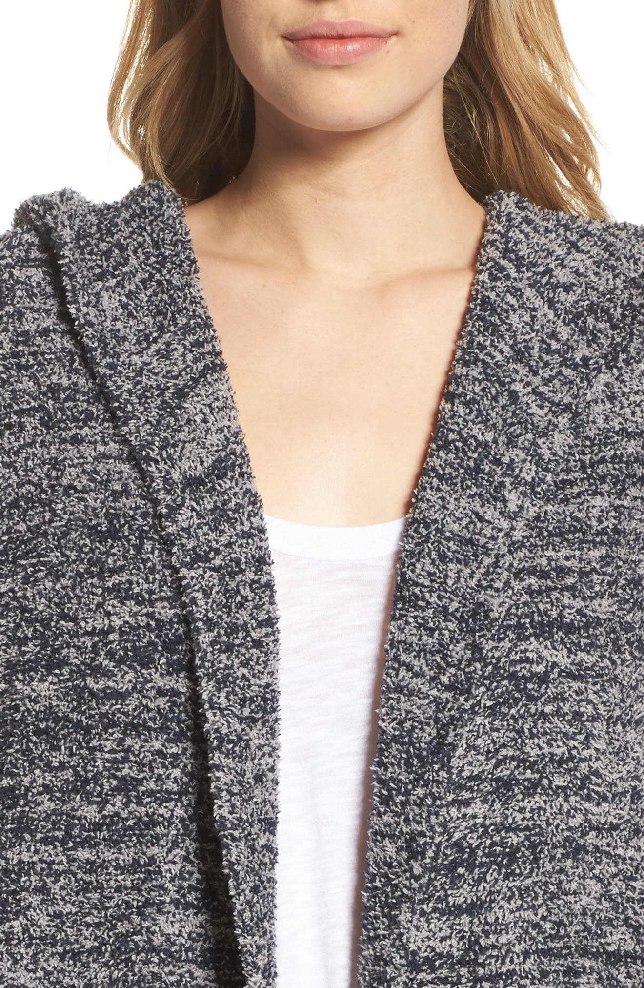 CozyChic<sup>®</sup> California Lounge Coat,                             Alternate thumbnail 4, color,                             Indigo/ Dove