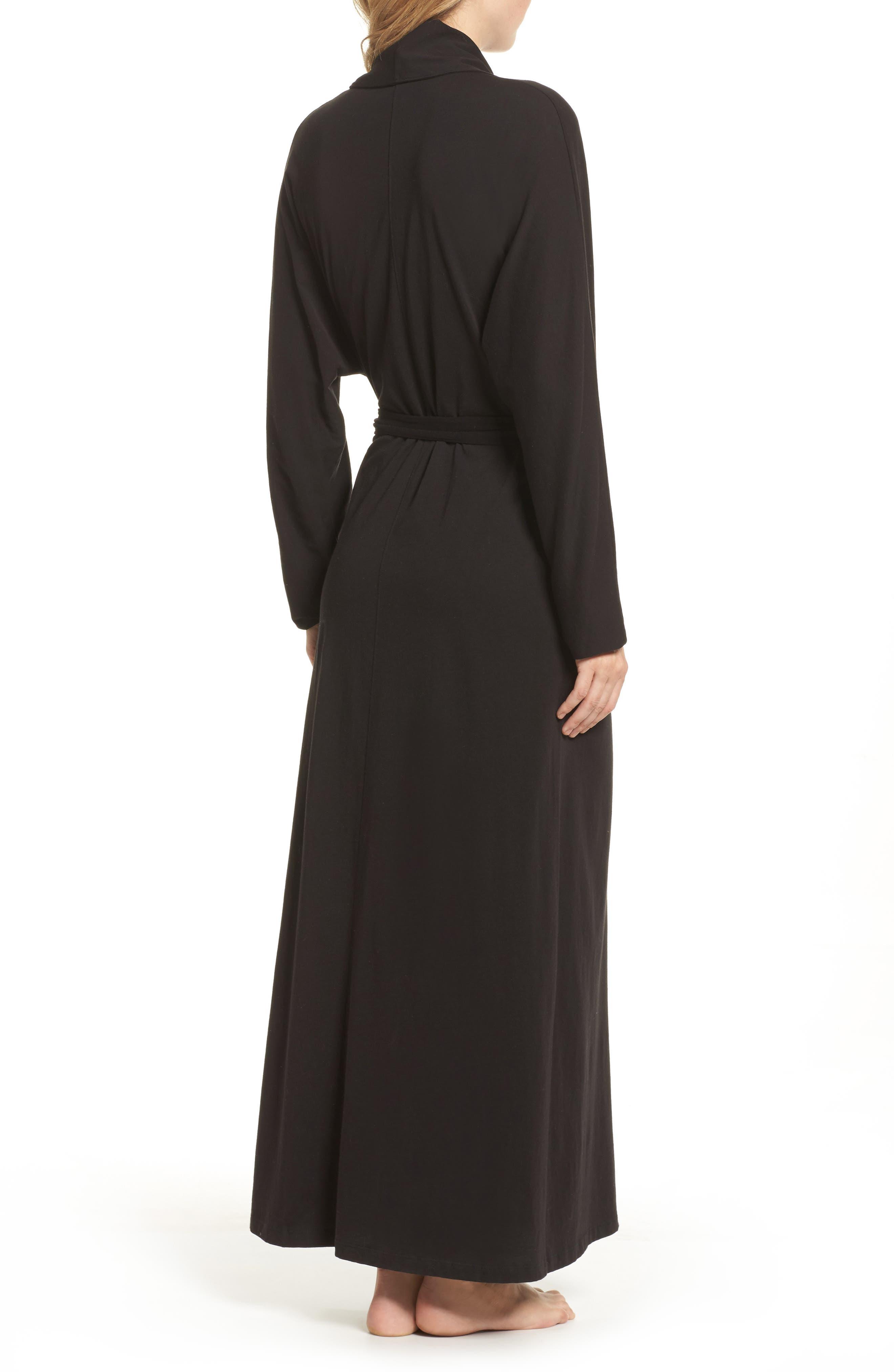 Alternate Image 2  - skin Paola Pima Cotton Robe