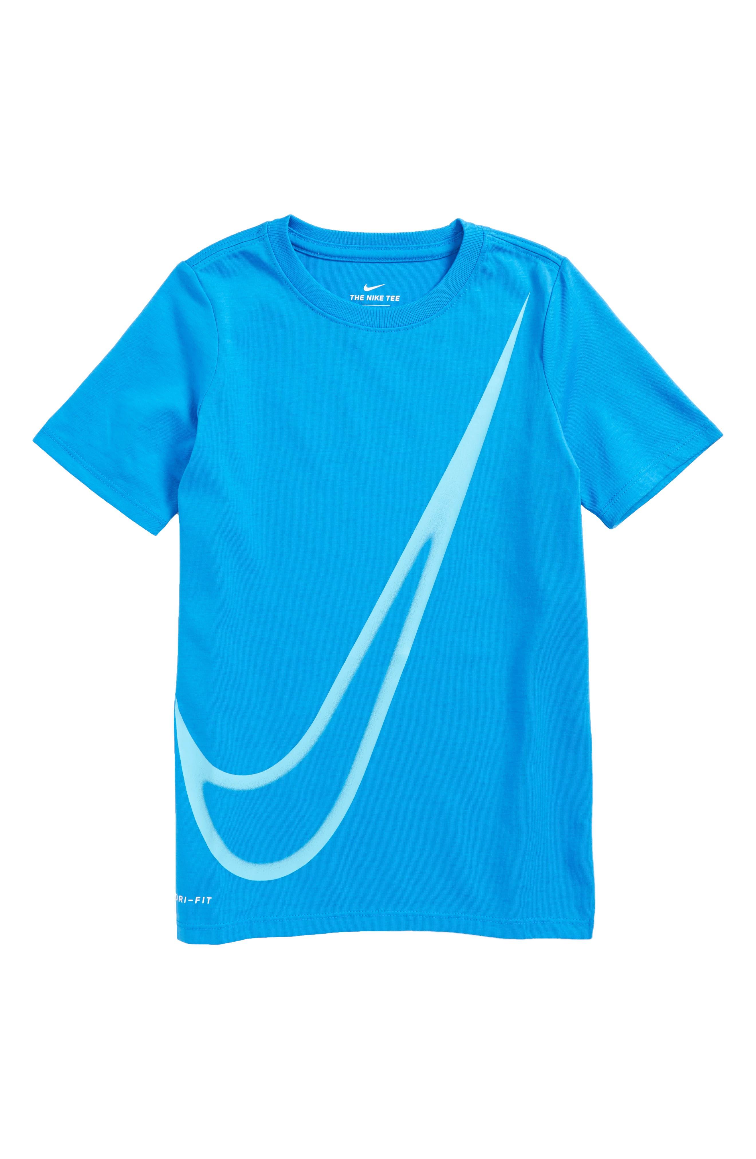 Nike Dry Big Swoosh Graphic T-Shirt (Little Boys & Big Boys)