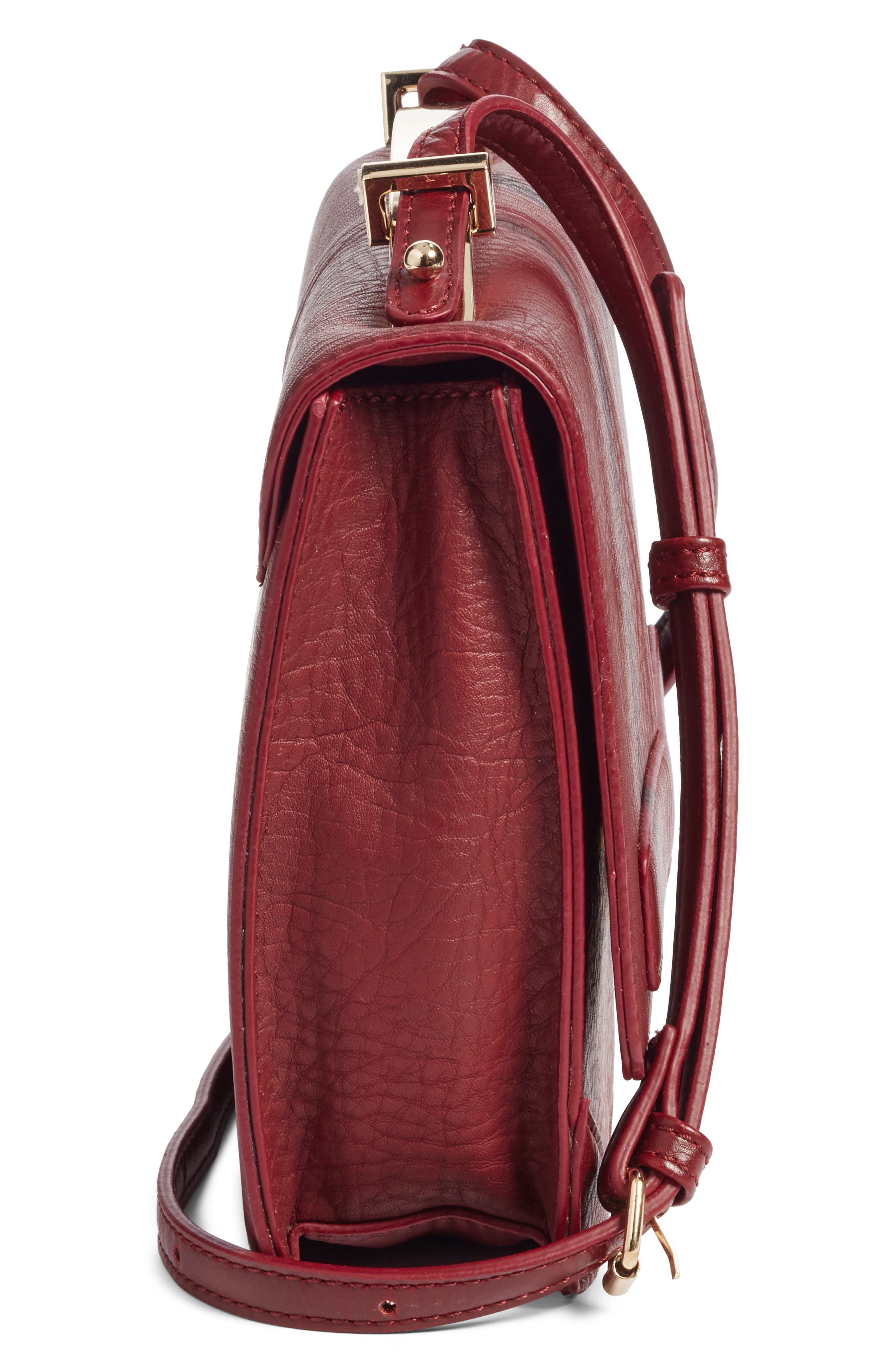 Alternate Image 5  - Sole Society Krista Faux Leather Crossbody Bag