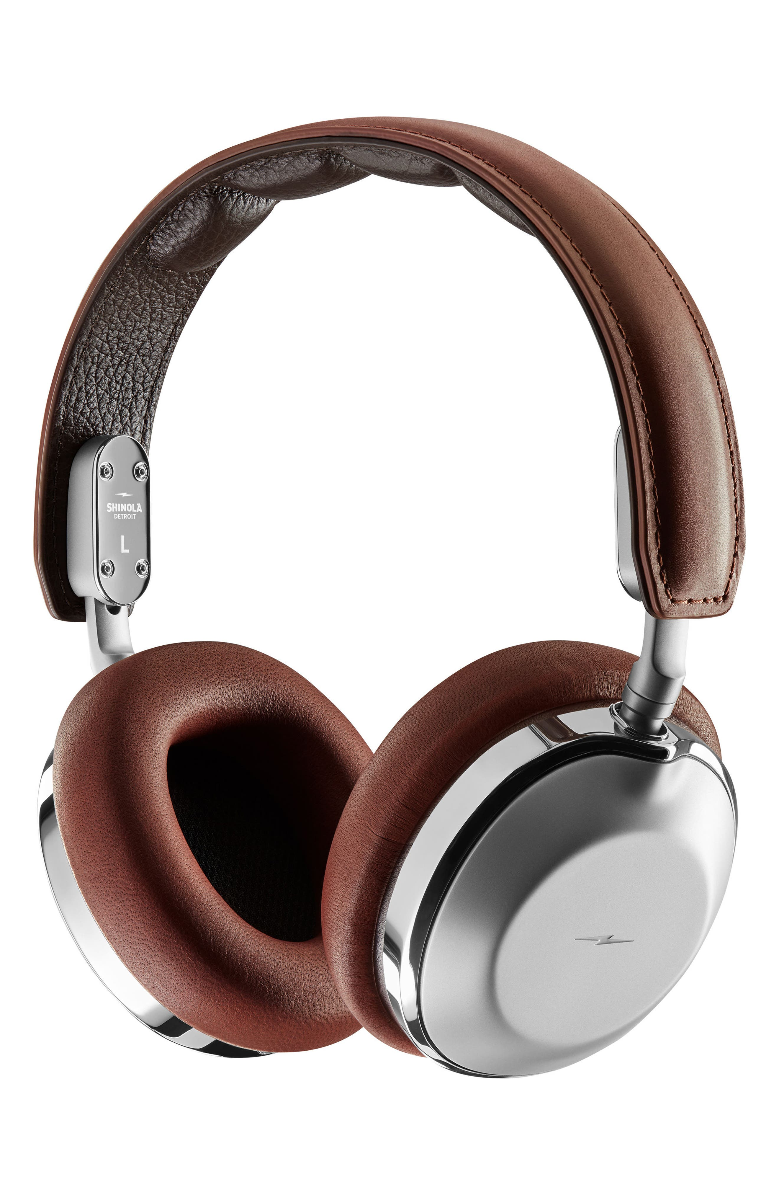Canfield Over-Ear Headphones,                         Main,                         color, Cognac