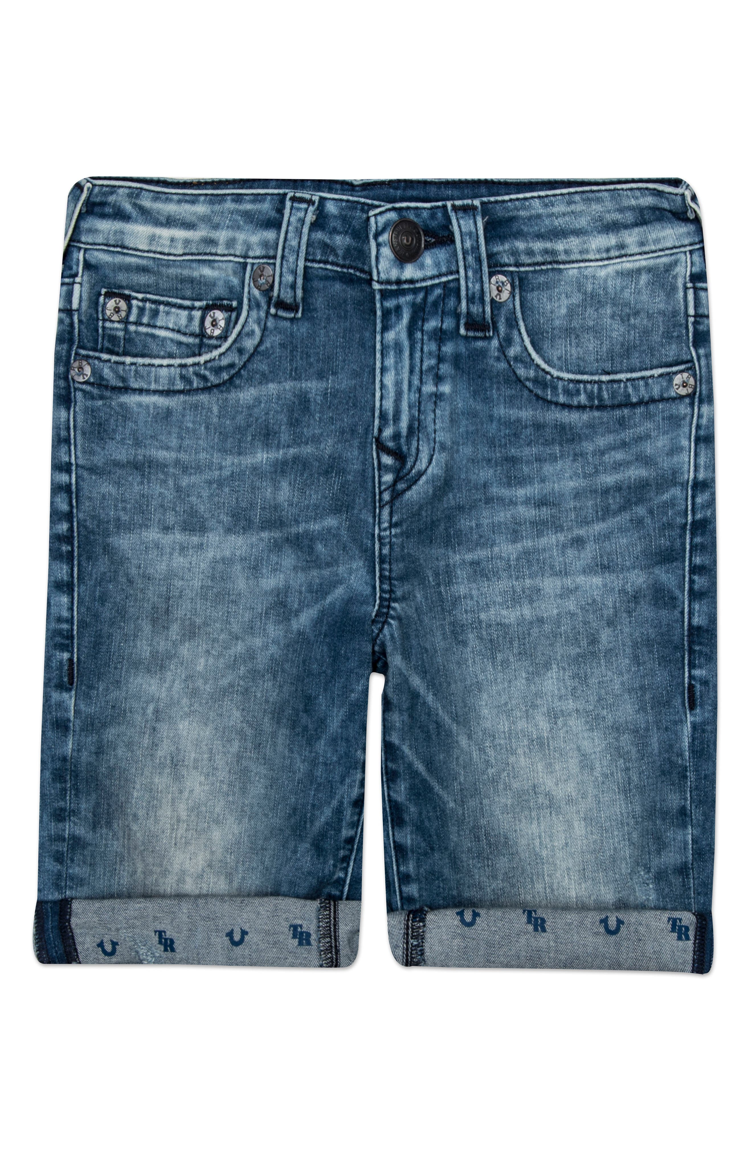 Alternate Image 1 Selected - True Religion Brand Jeans Geno Shorts (Toddler Boys & Little Boys)