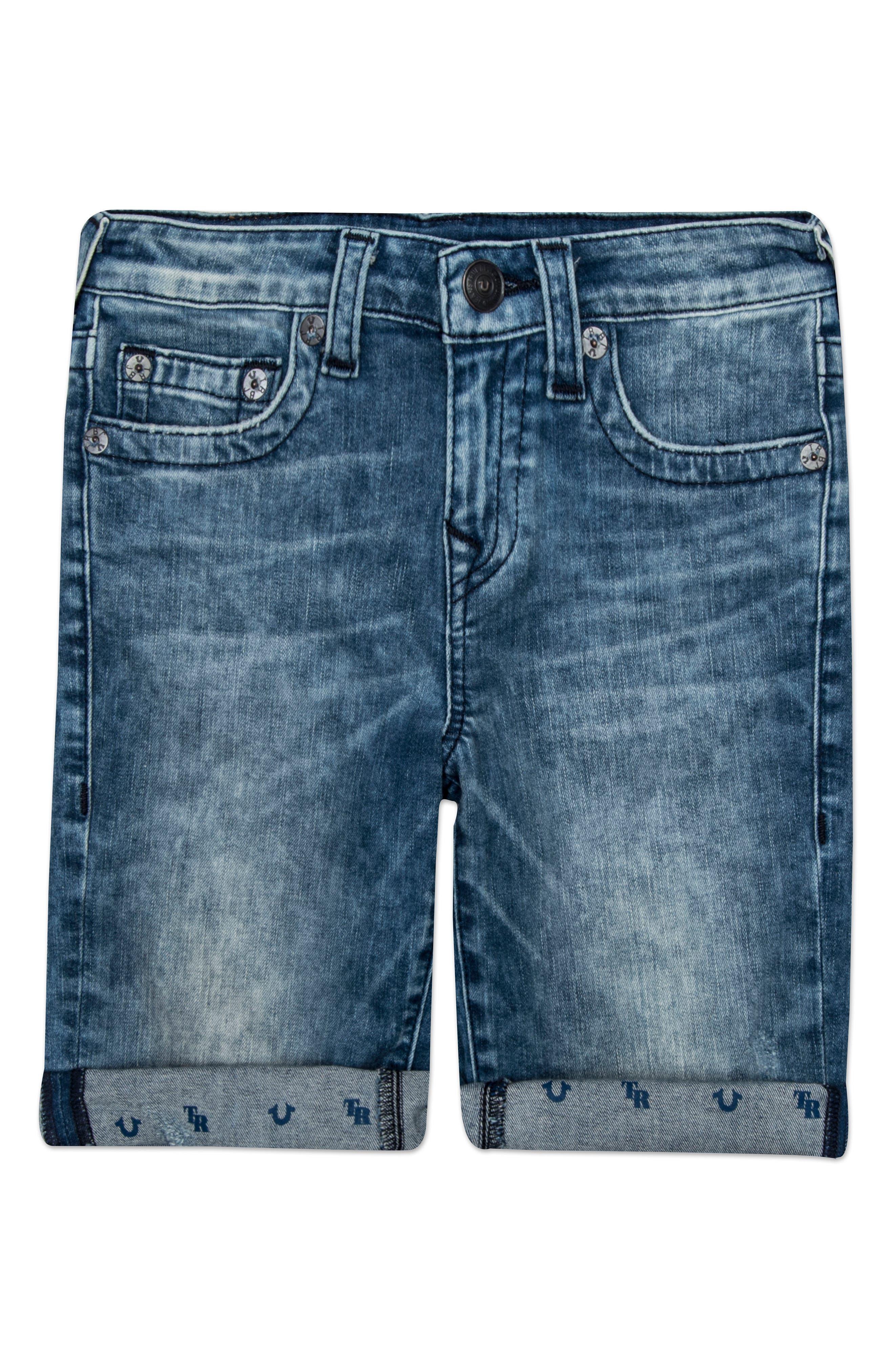 True Religion Brand Jeans Geno Shorts (Toddler Boys & Little Boys)