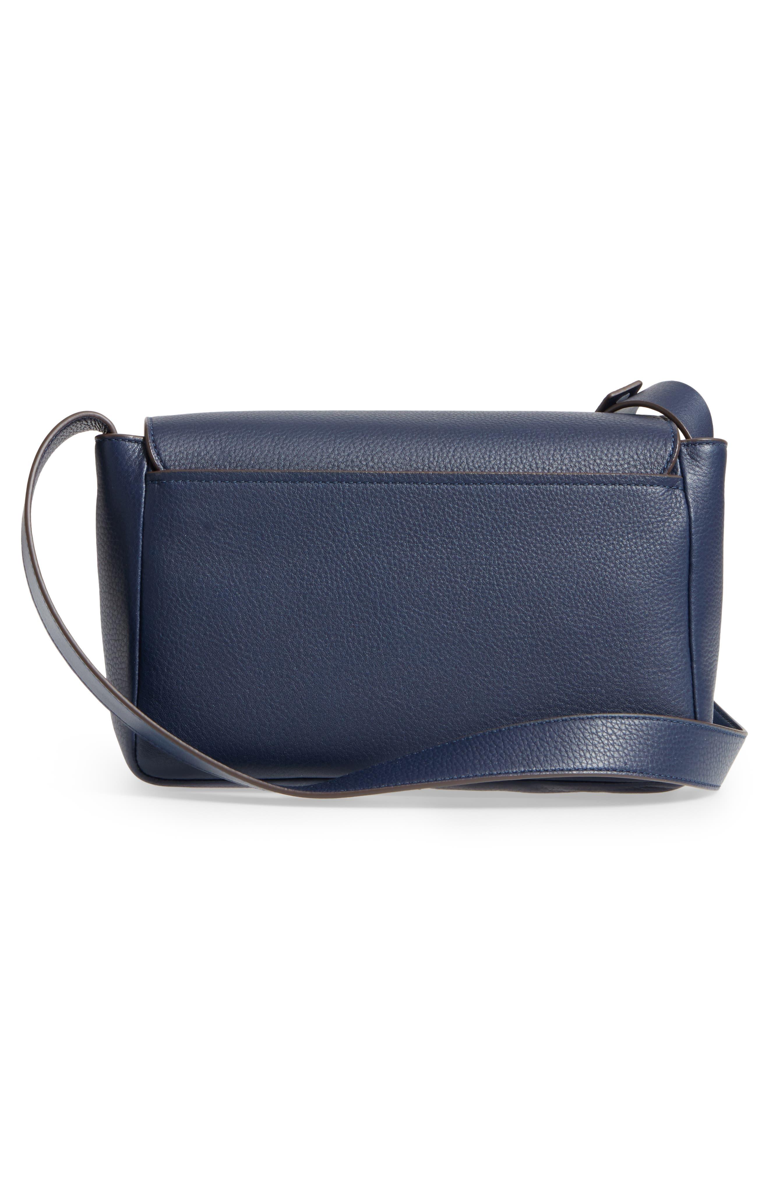 Alternate Image 3  - Tory Burch Block-T Pebbled Leather Shoulder Bag
