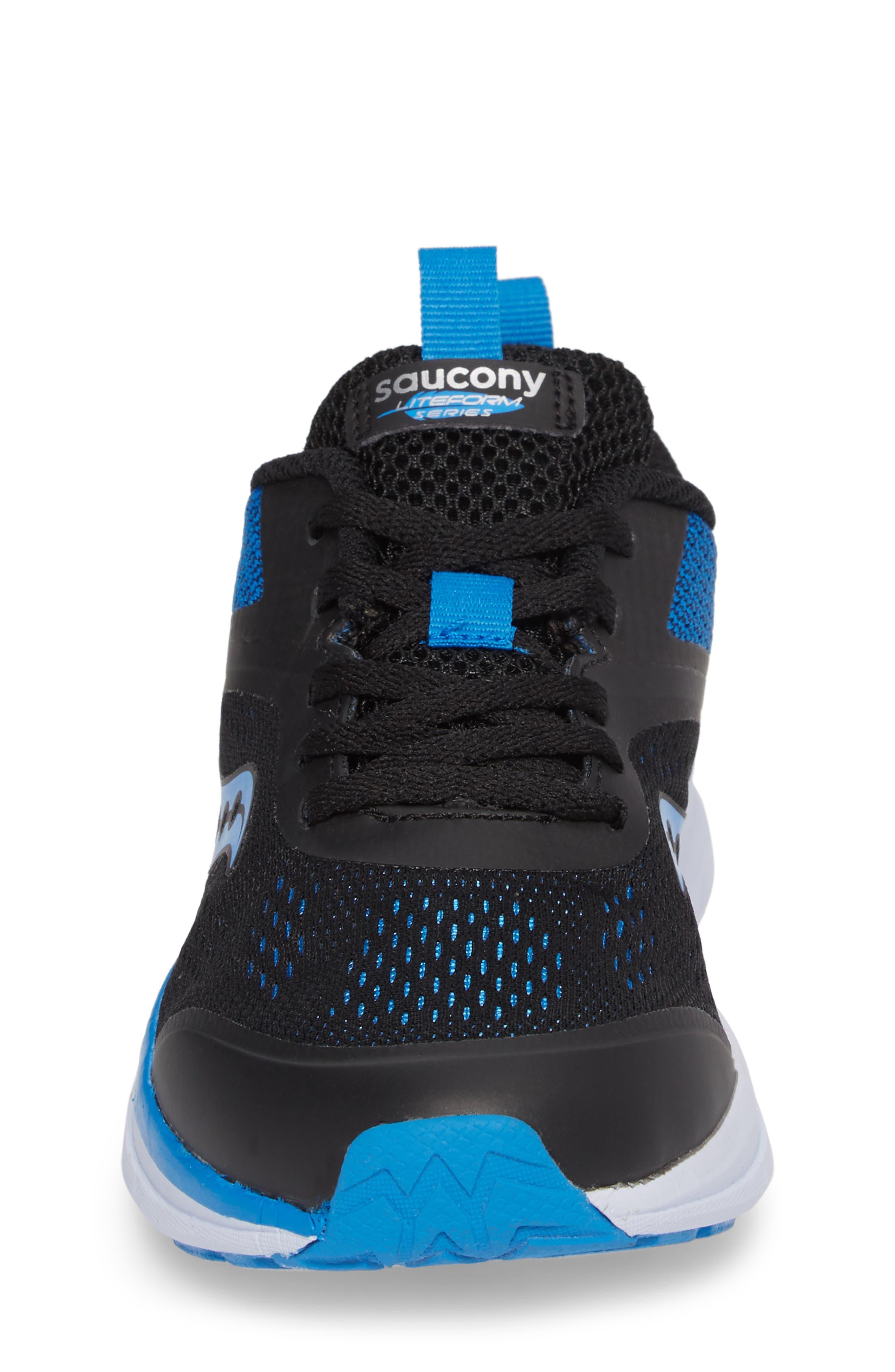 Alternate Image 4  - Saucony Liteform Miles Sneaker (Toddler, Little Kid & Big Kid)