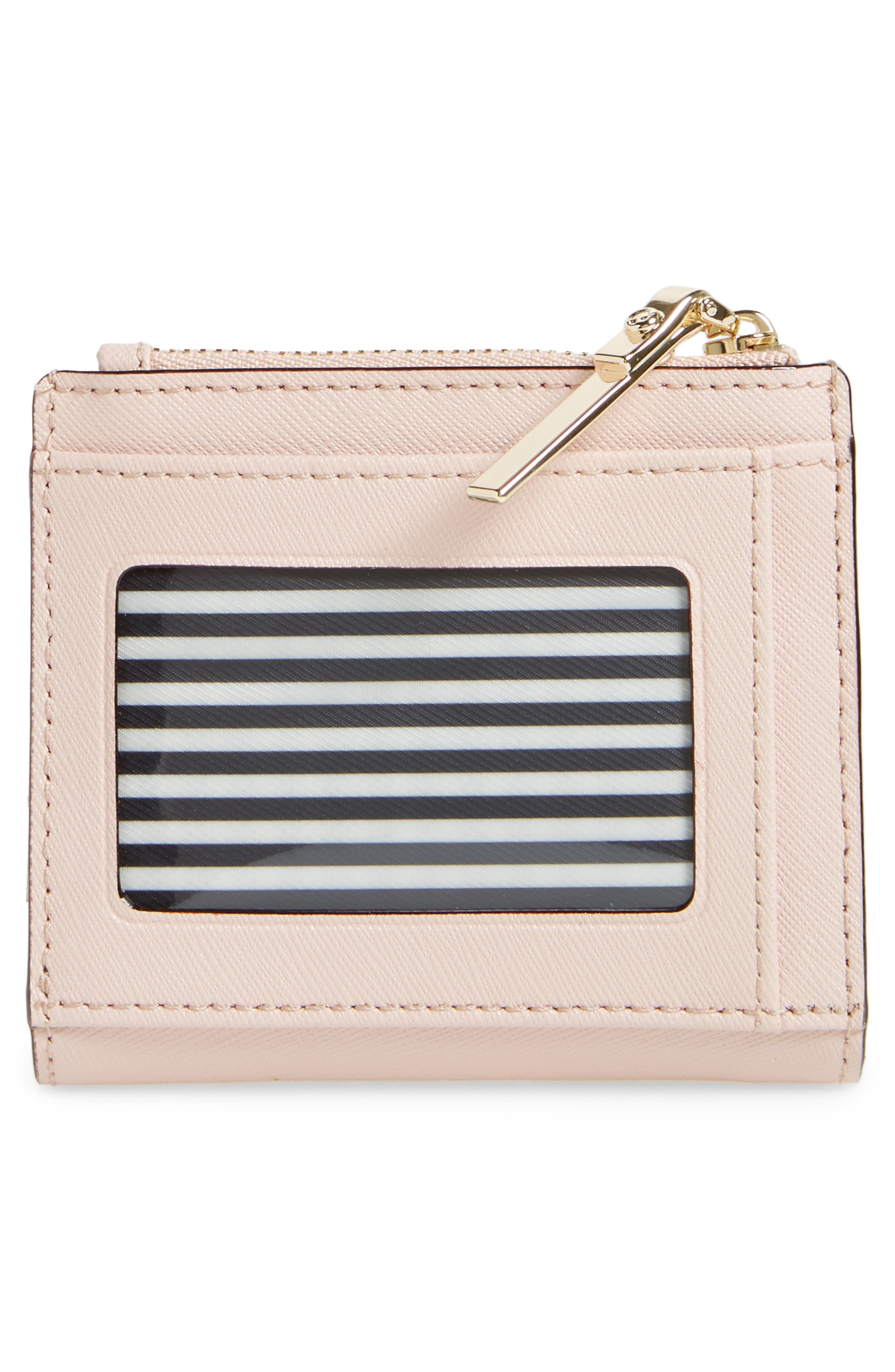 cameron street - adalyn slim leather wallet,                             Alternate thumbnail 4, color,                             Warm Vellum