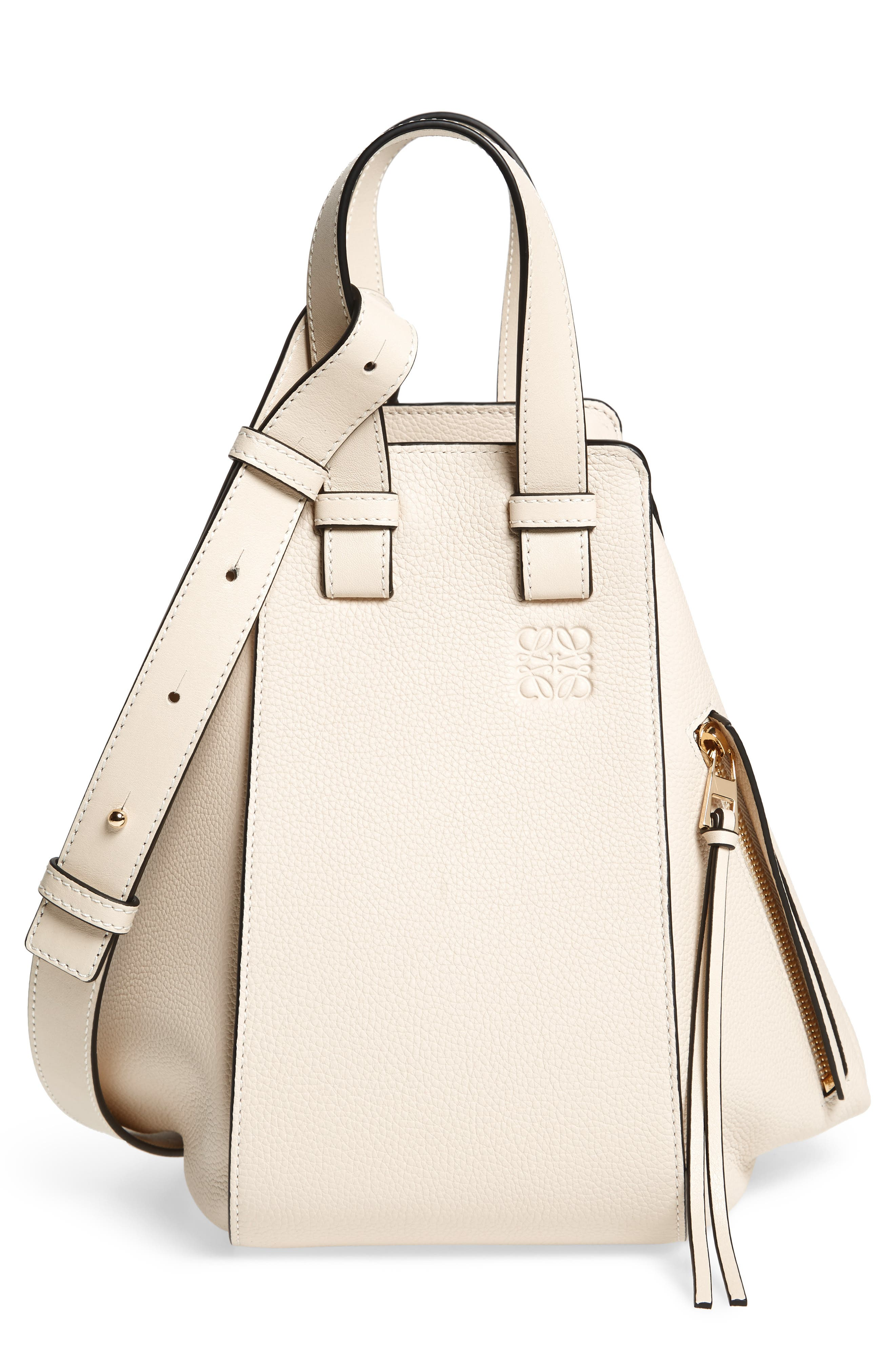 Loewe Small Hammock Tricolor Pebbled Leather Hobo