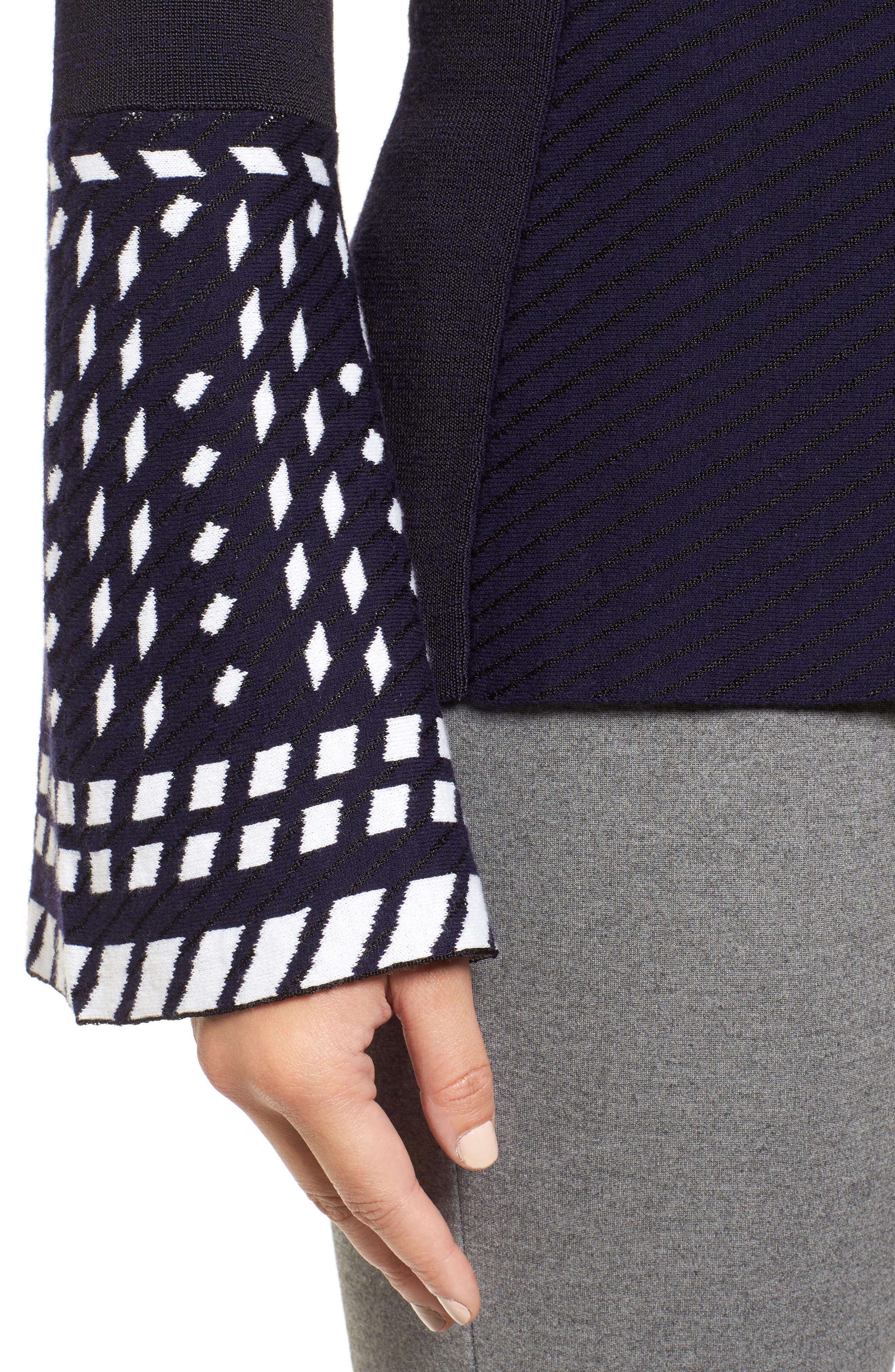 Alternate Image 4  - NIC+ZOE Falling Star Sweater (Regular & Petite)