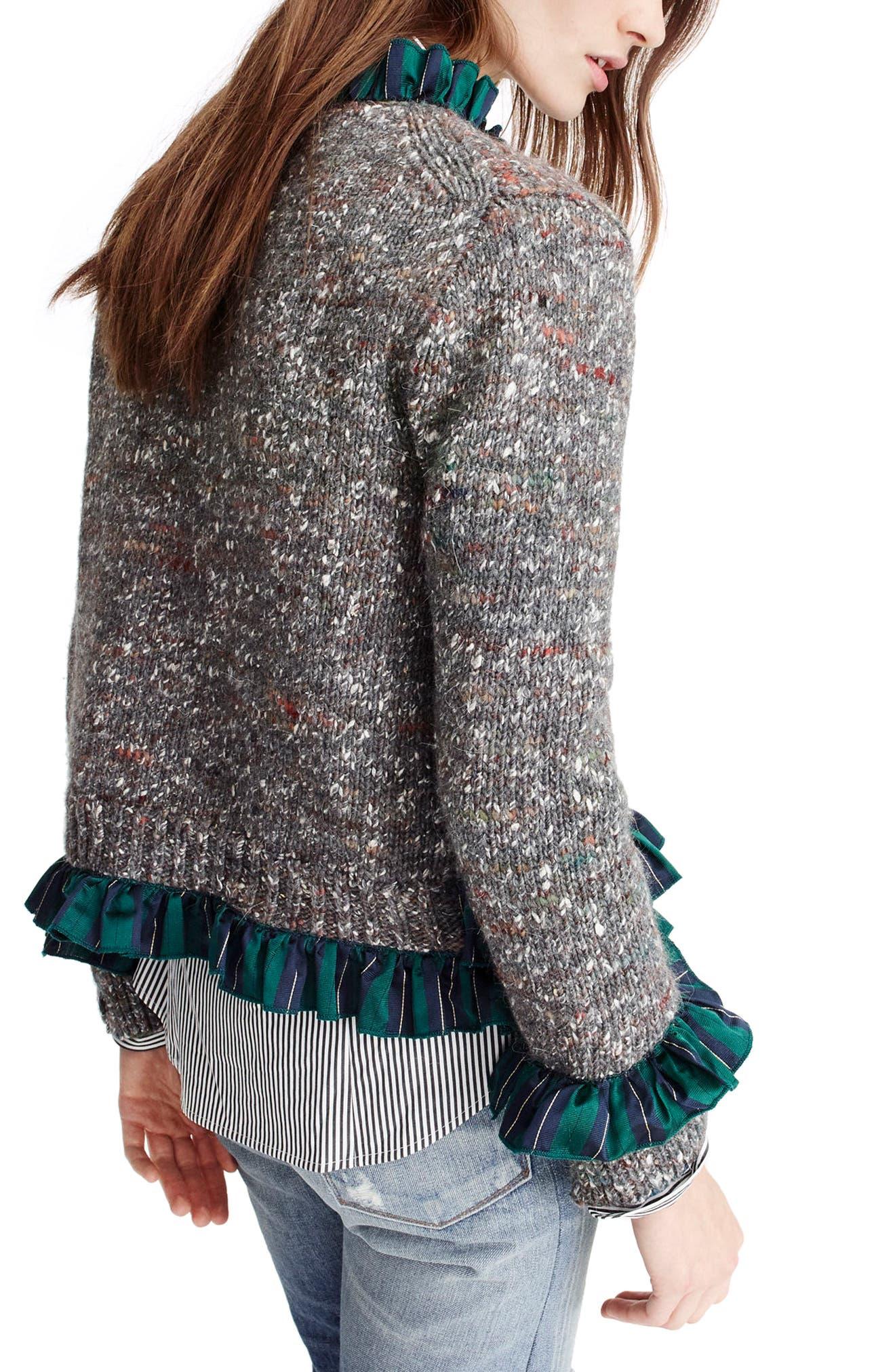 Alternate Image 2  - J.Crew Sweater Lady Jacket
