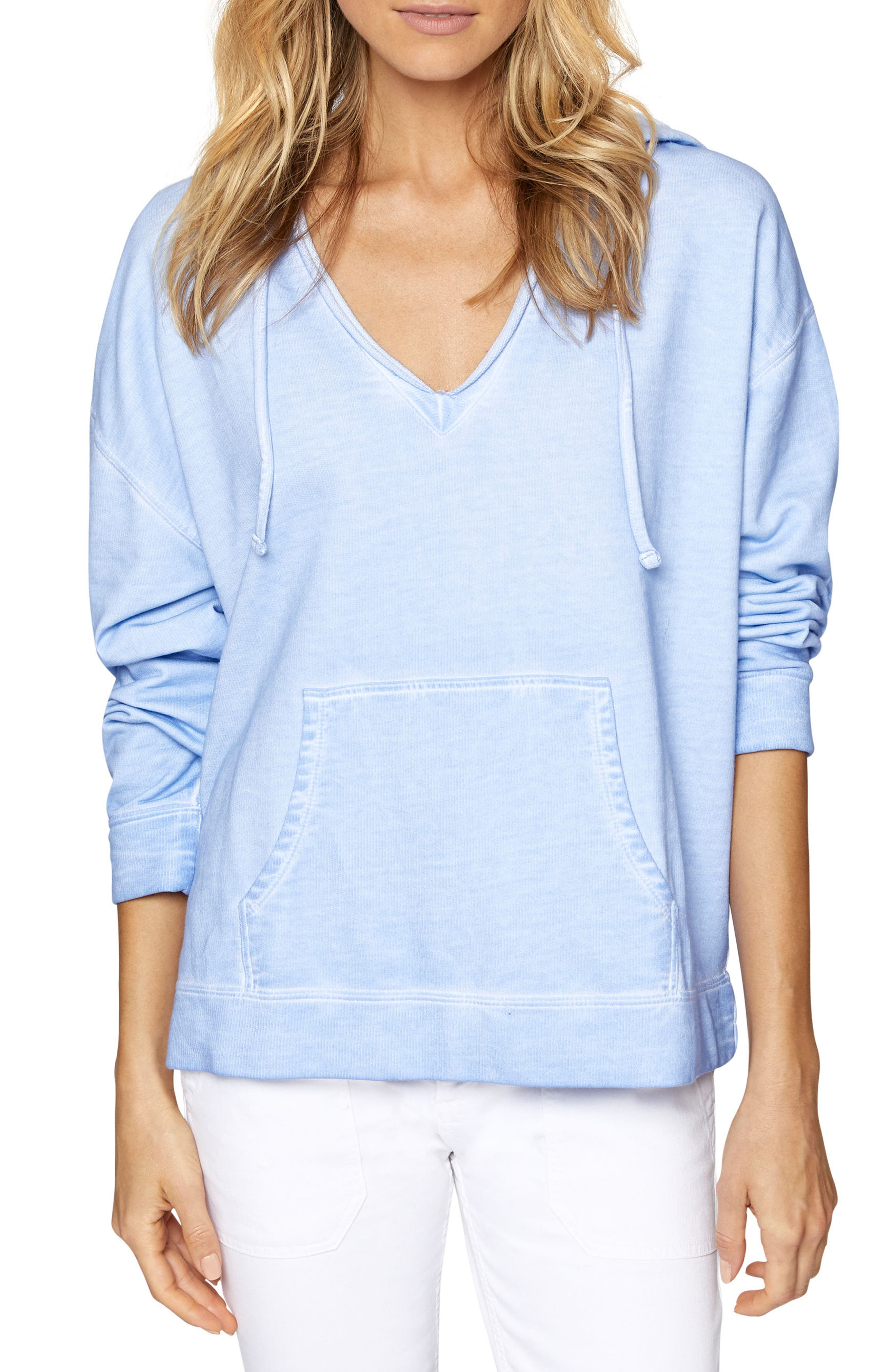 Shiloh Hoodie,                             Main thumbnail 1, color,                             Icy Blue