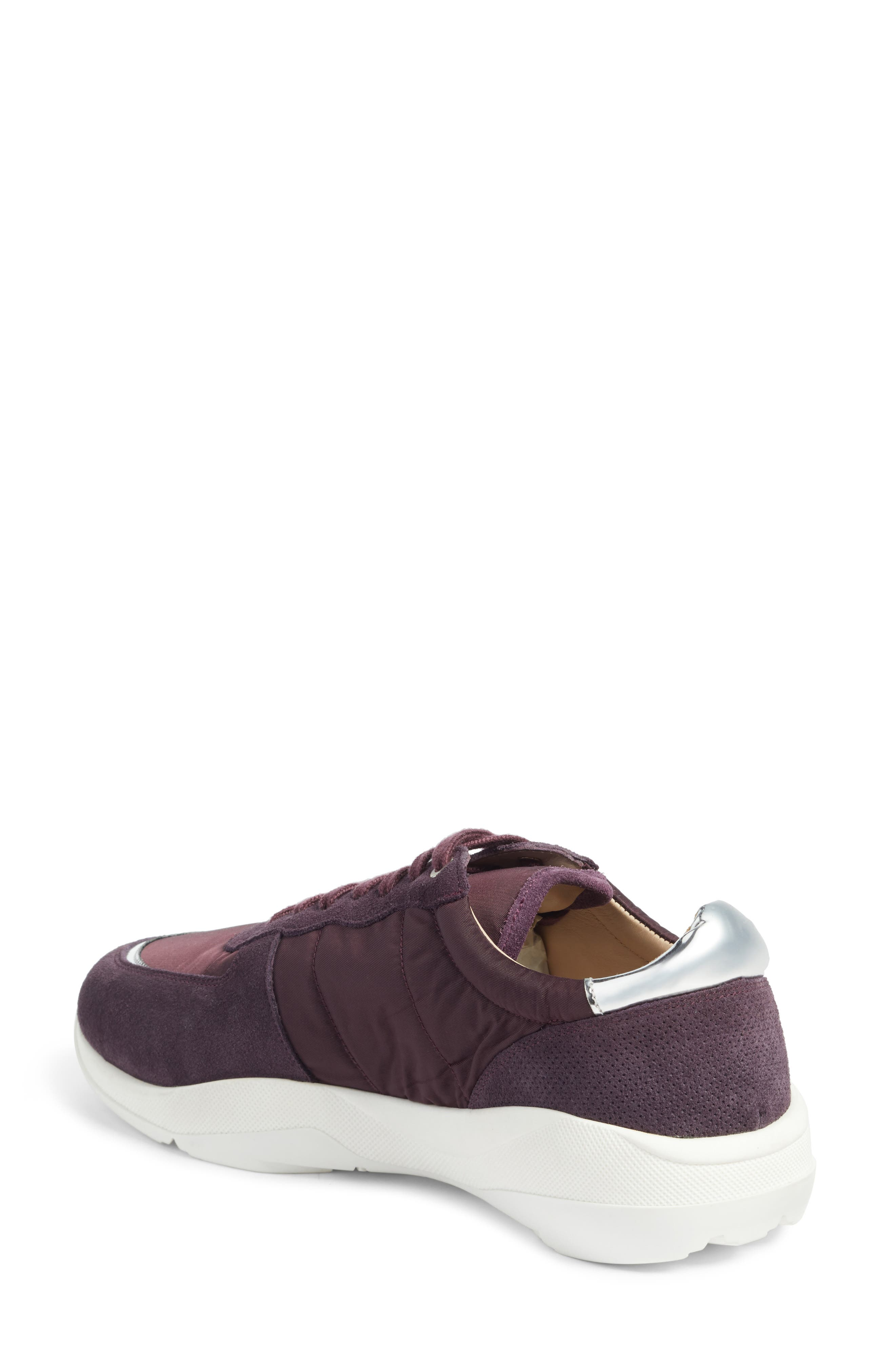Geo Sneaker,                             Alternate thumbnail 2, color,                             Purple