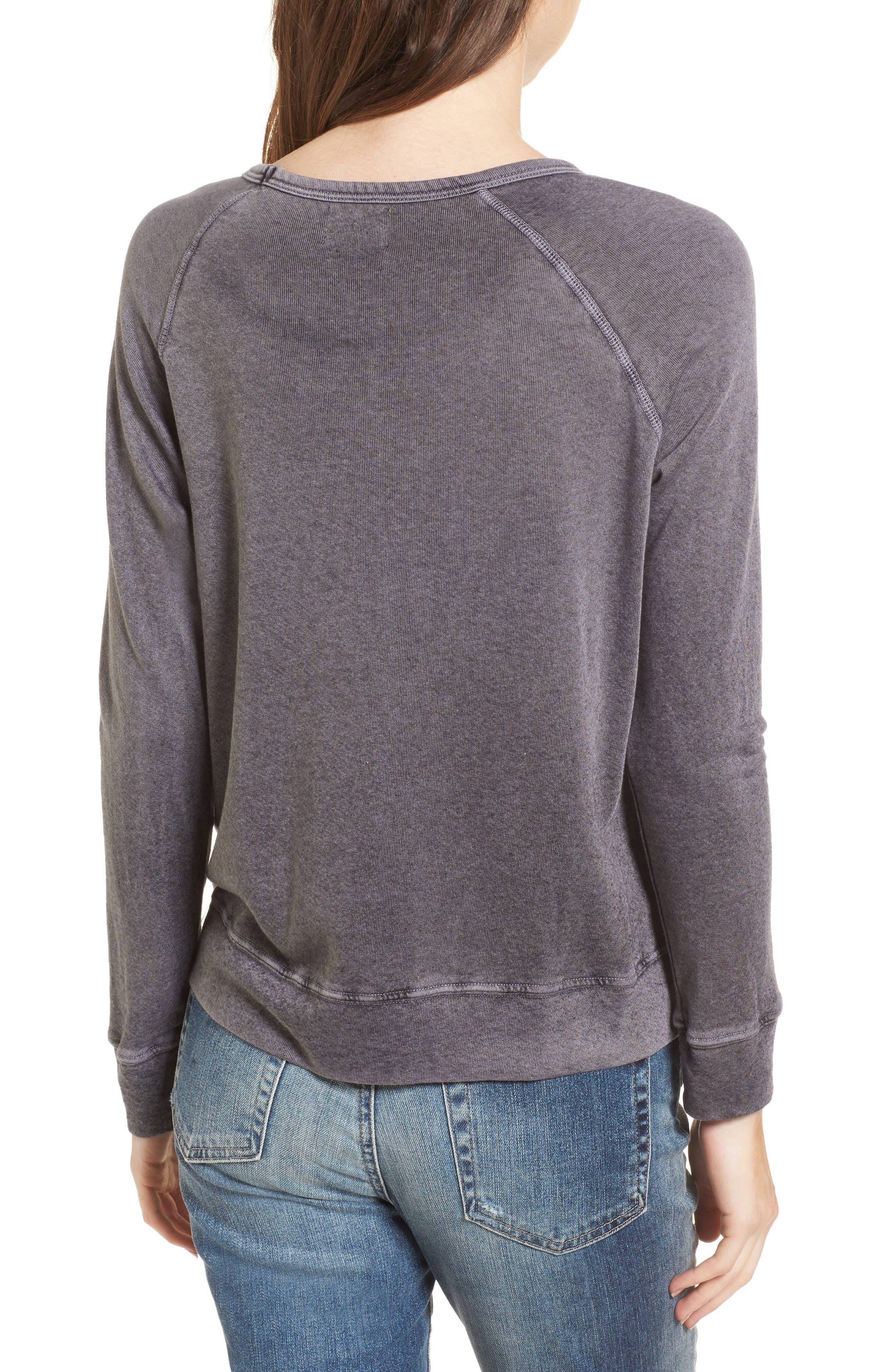 Cheers Sweatshirt,                             Alternate thumbnail 2, color,                             Vintage Black