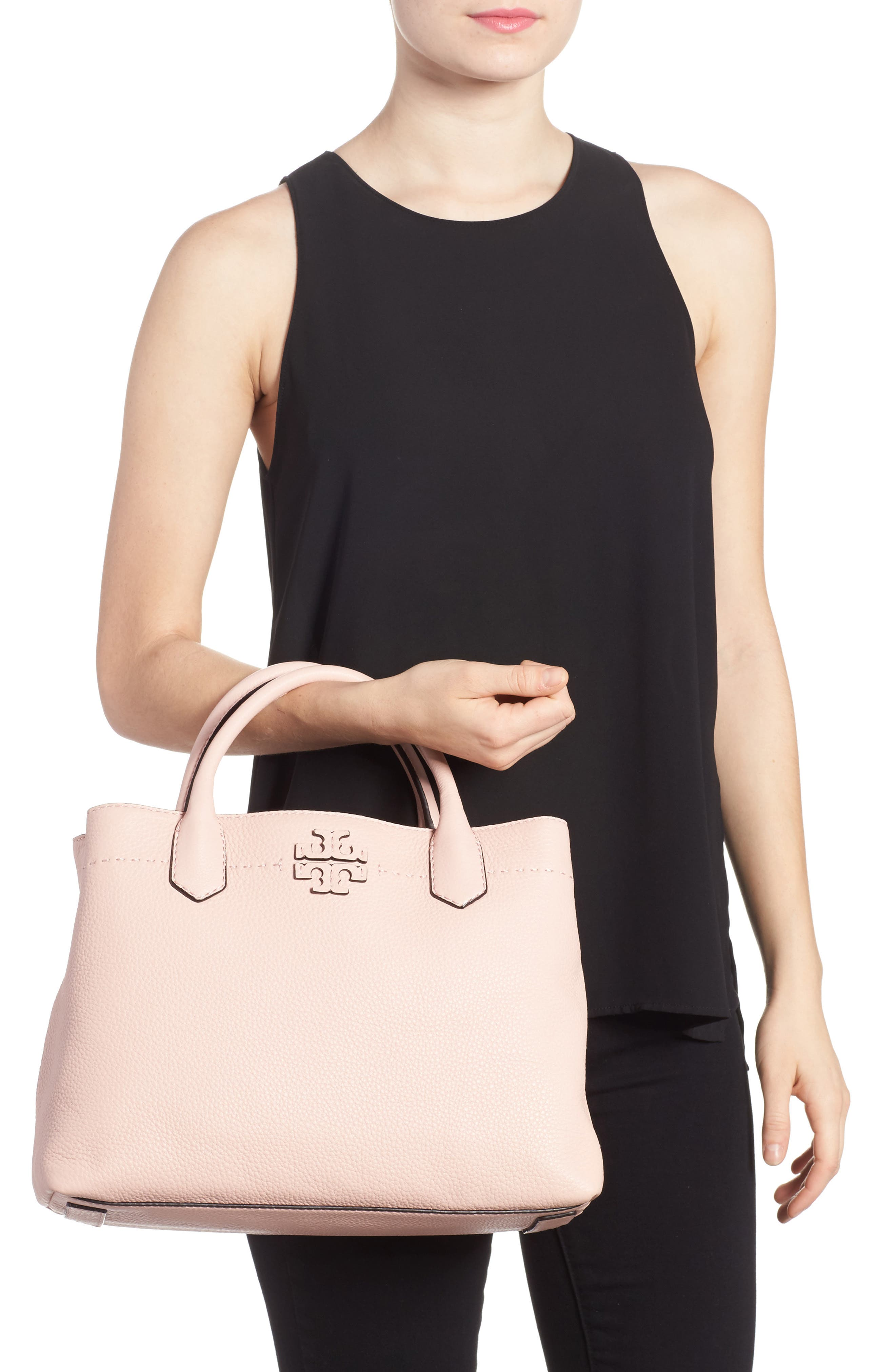 Alternate Image 2  - Tory Burch McGraw Leather Tote