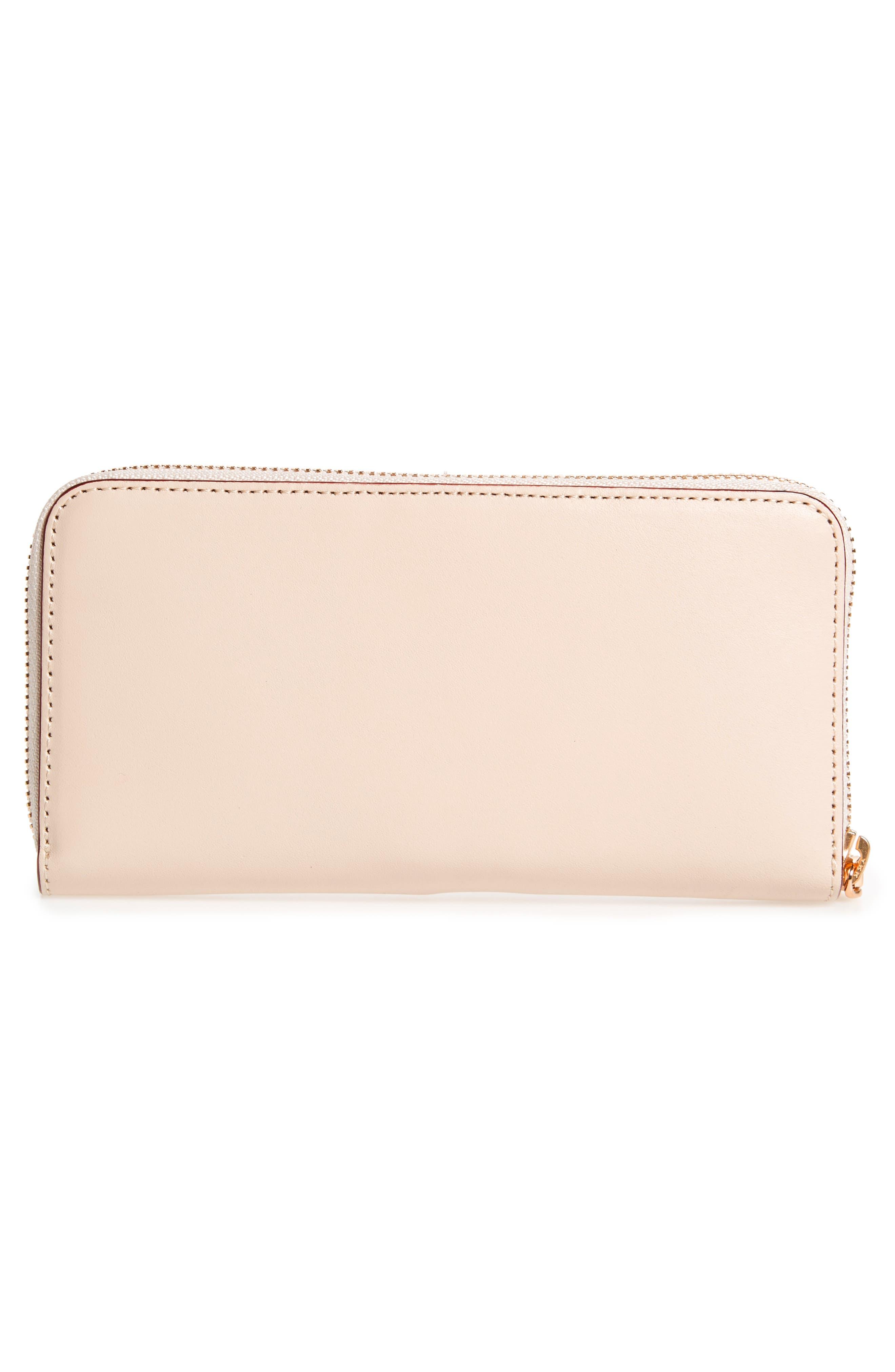 Alternate Image 3  - Frances Valentine Kennedy Calfskin Leather Zip Around Wallet