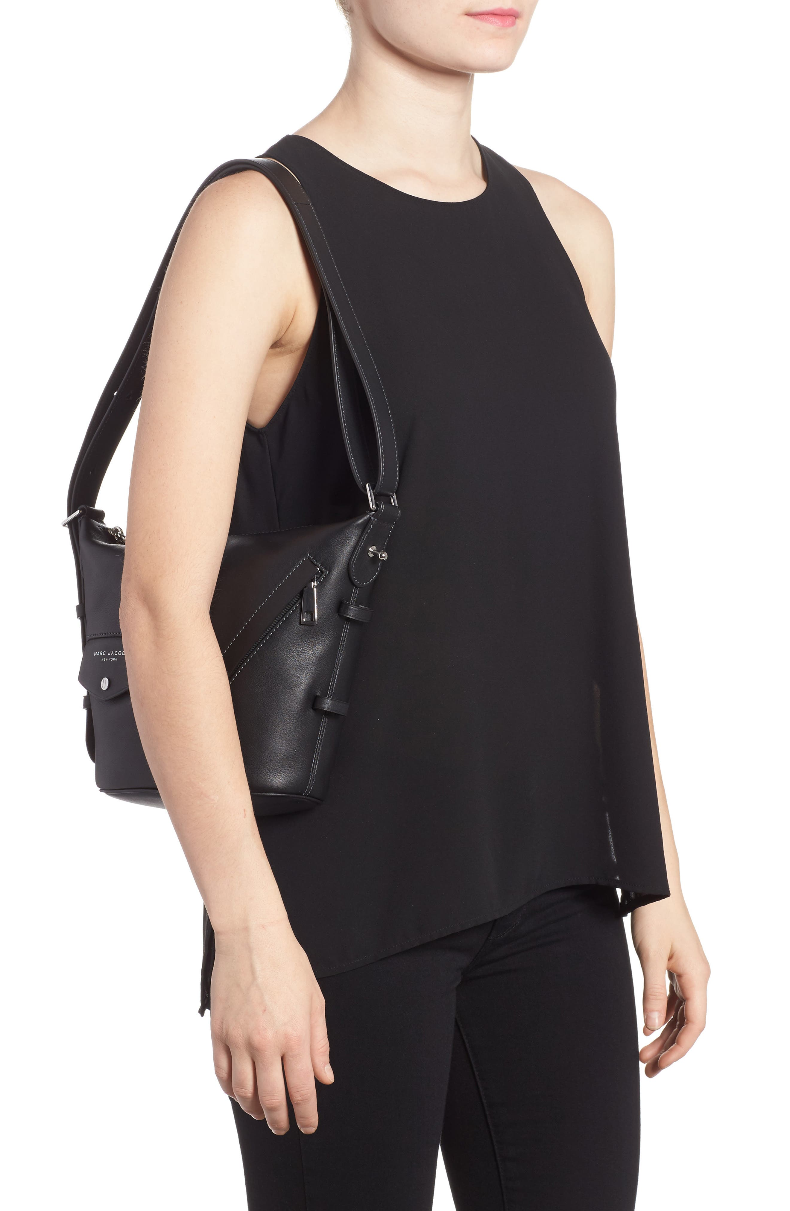 Alternate Image 2  - MARC JACOBS The Mini Sling Convertible Leather Hobo