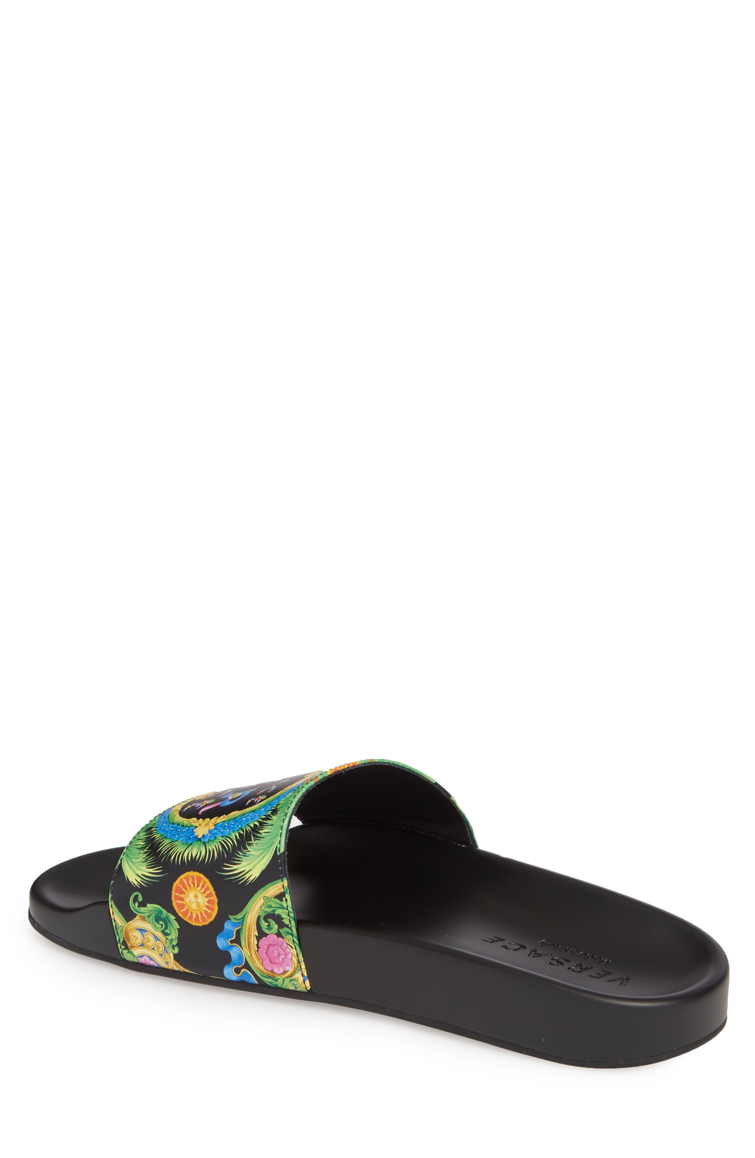 Alternate Image 2  - Versace First Line Miami Slide Sandal (Men)