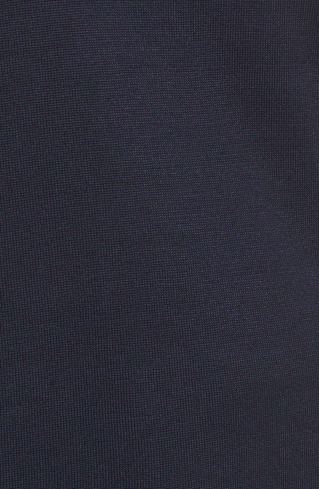 Long Knit Tank,                             Alternate thumbnail 5, color,                             Navy