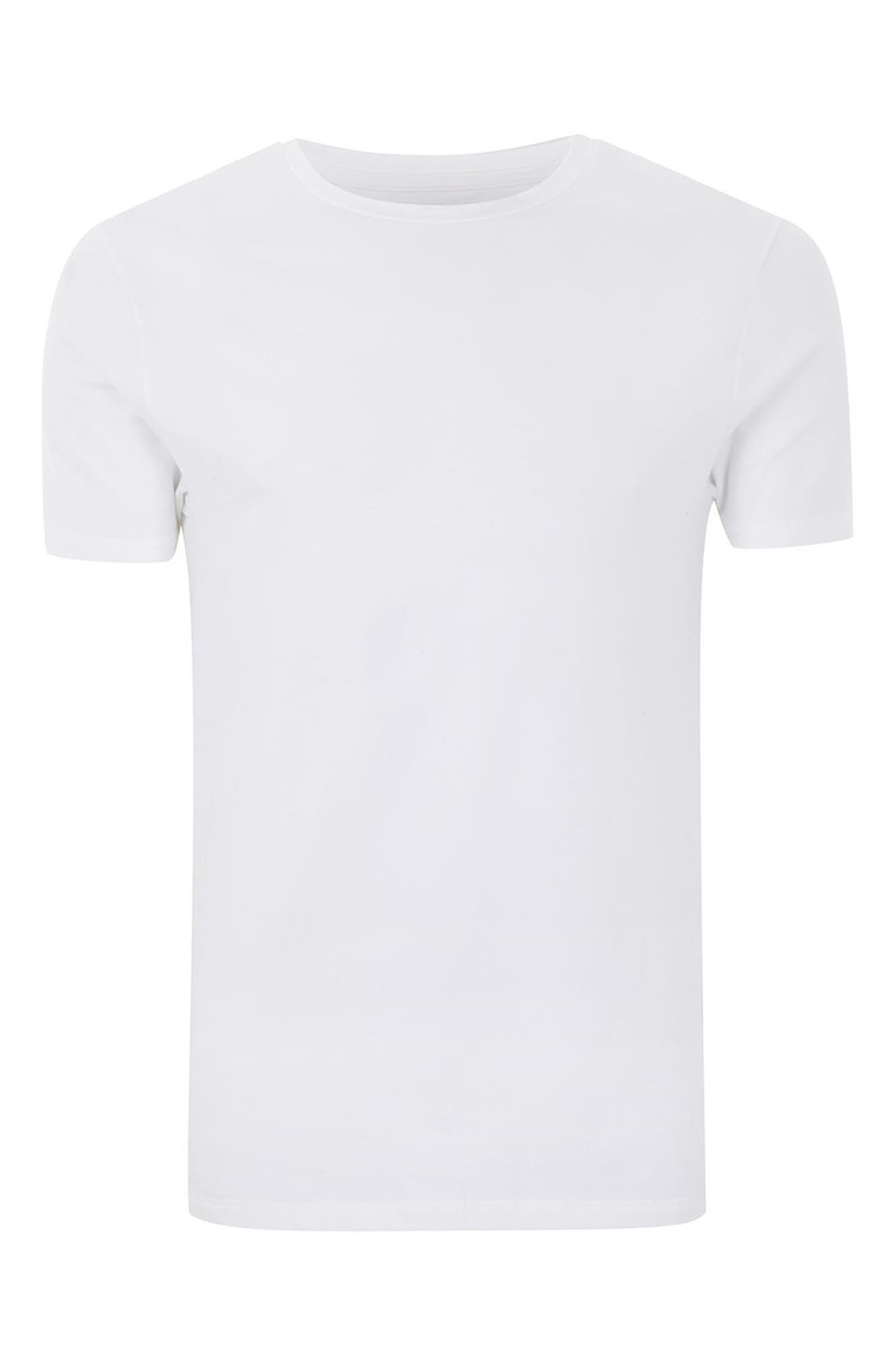 Alternate Image 4  - Topman Ultra Muscle Fit T-Shirt
