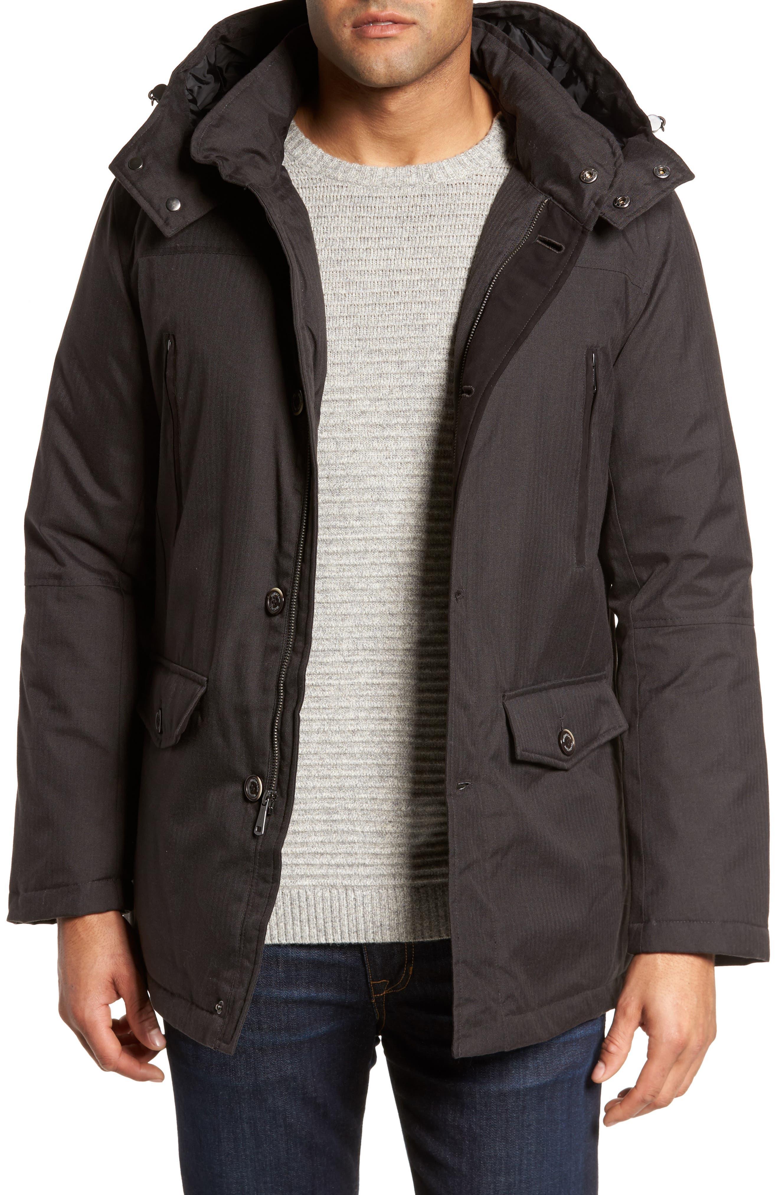 Bugatchi Hooded Jacket