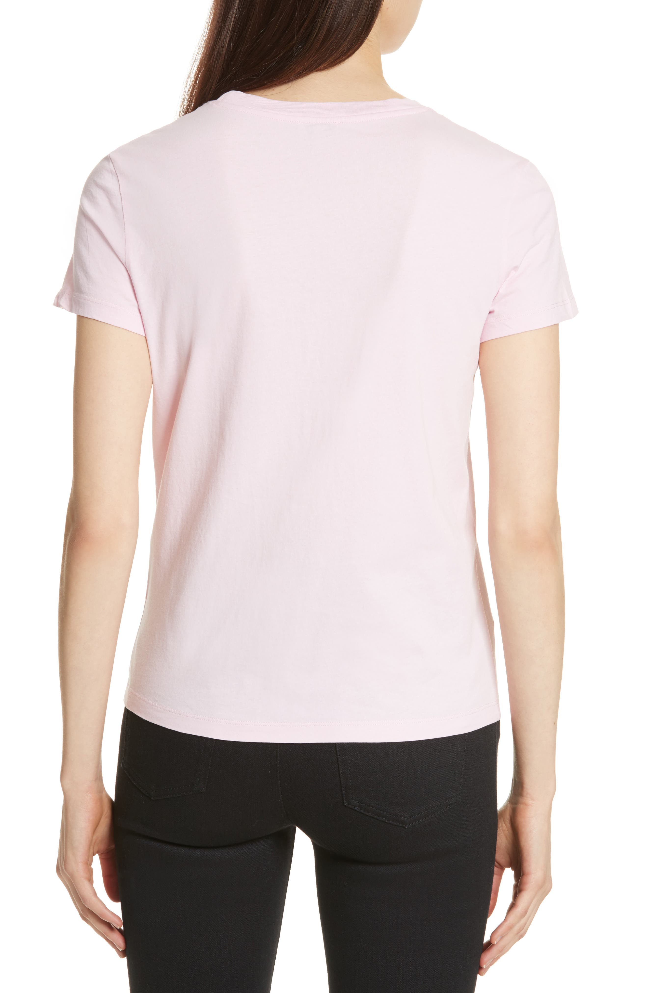 Classic Tiger Graphic Tee,                             Alternate thumbnail 2, color,                             Flamingo Pink