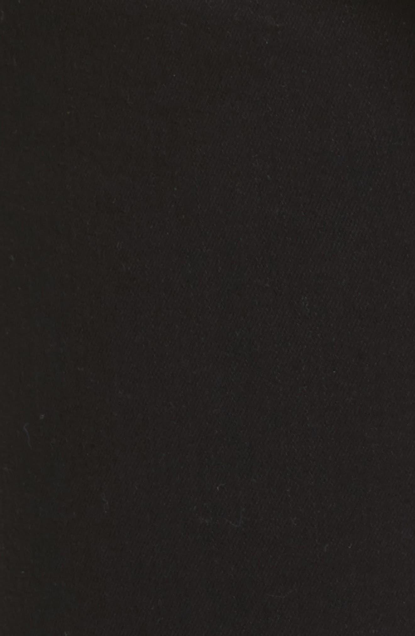 Le Color High Waist Skinny Jeans,                             Alternate thumbnail 6, color,                             Film Noir