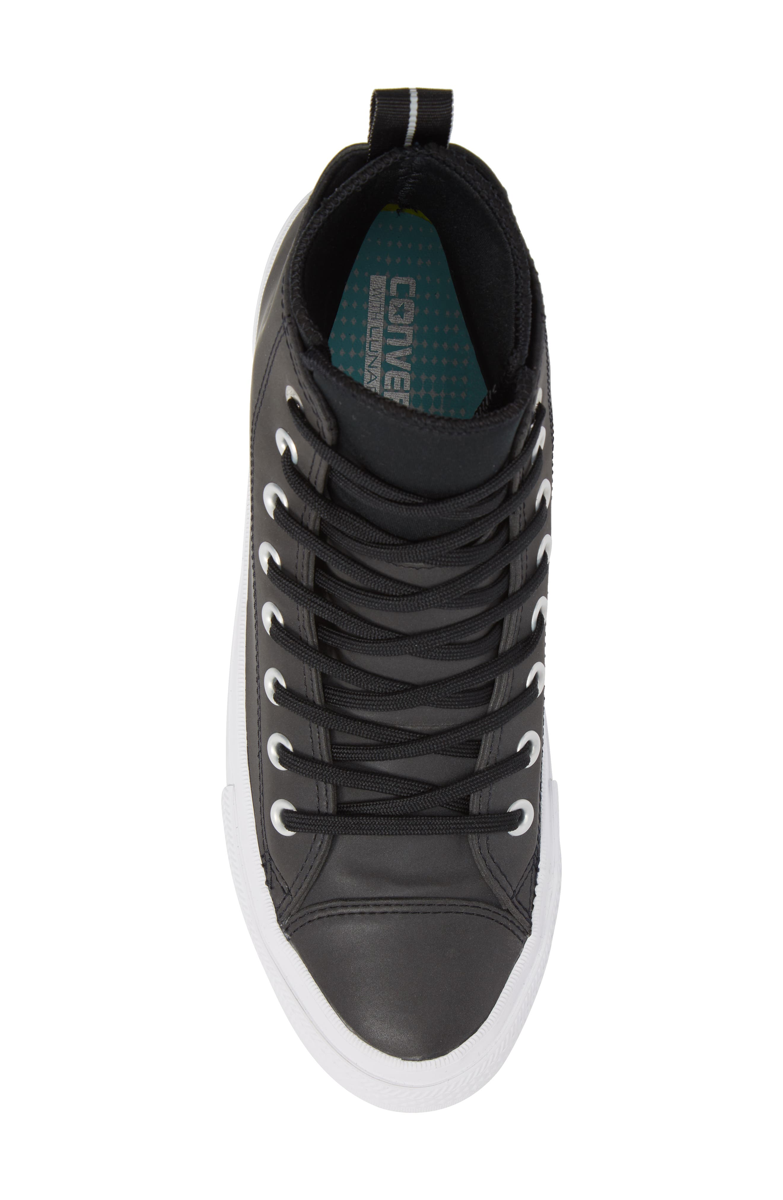 Chuck Taylor<sup>®</sup> All Star<sup>®</sup> Counter Climate Waterproof Sneaker,                             Alternate thumbnail 5, color,                             Black