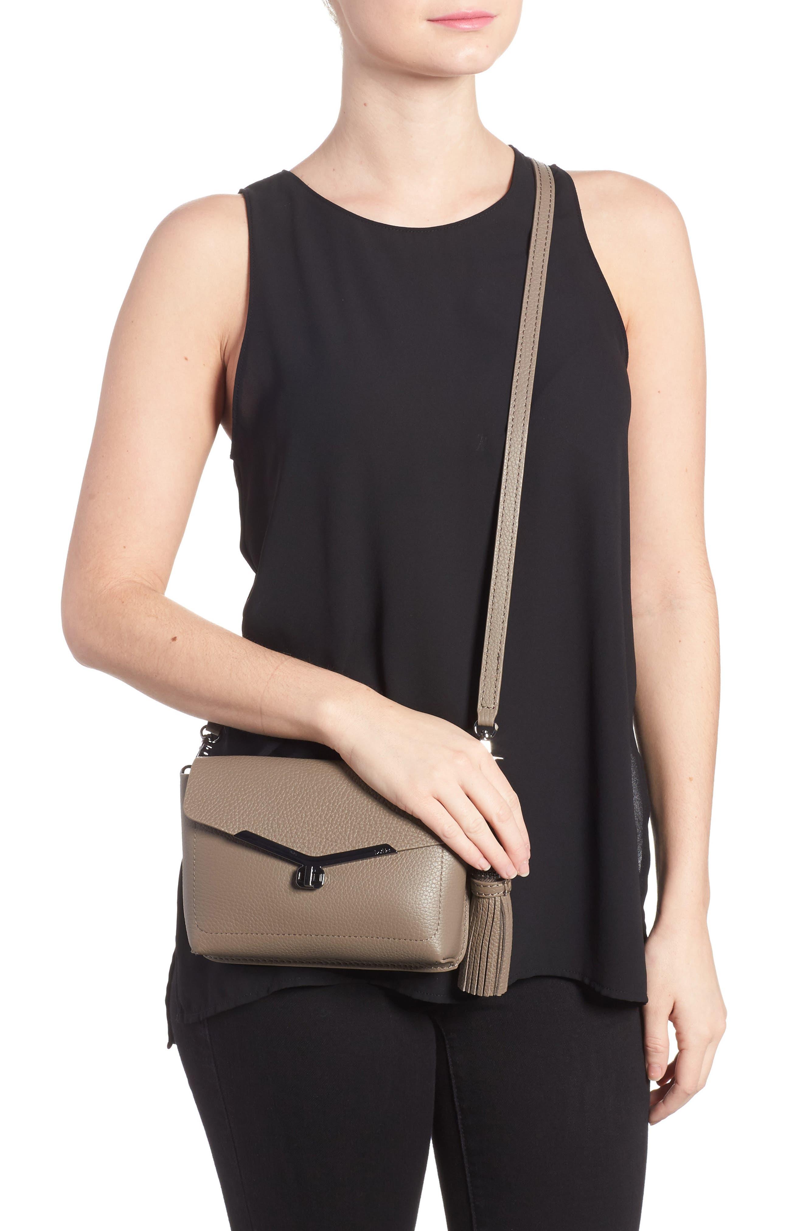 Alternate Image 2  - Botkier Vivi Leather Crossbody Bag