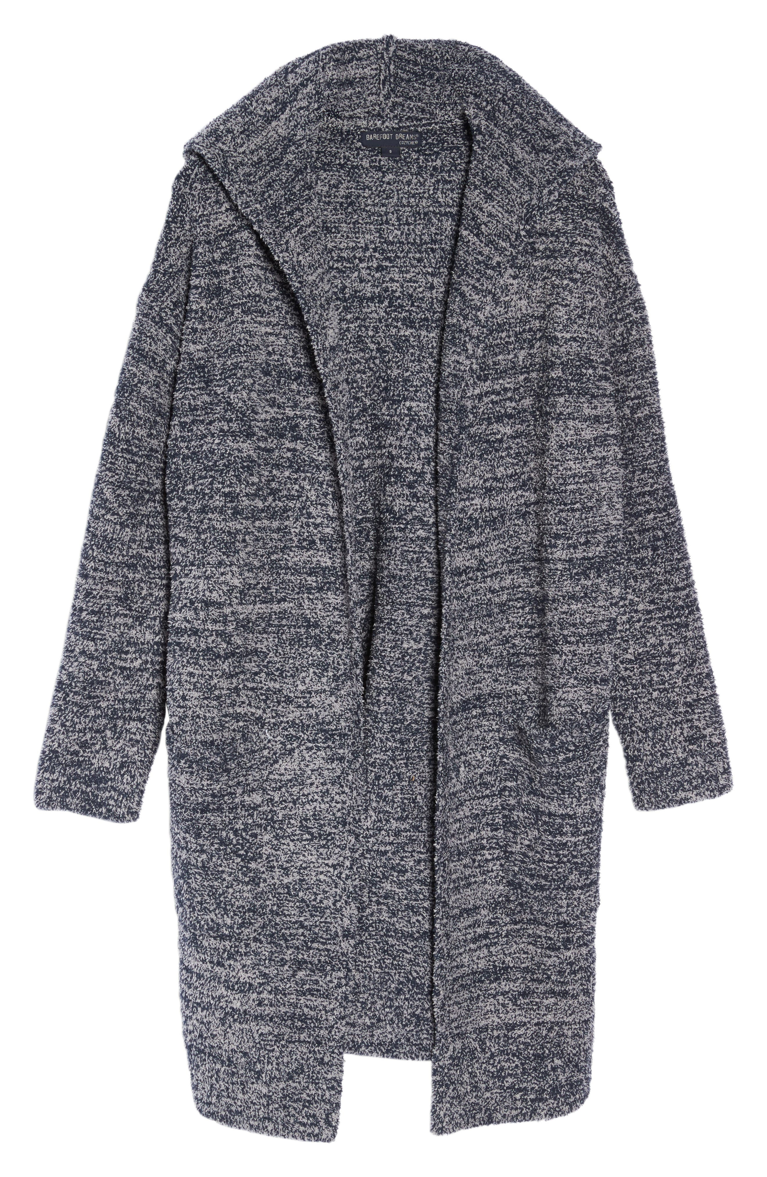 CozyChic<sup>®</sup> California Lounge Coat,                             Main thumbnail 1, color,                             Indigo/ Dove