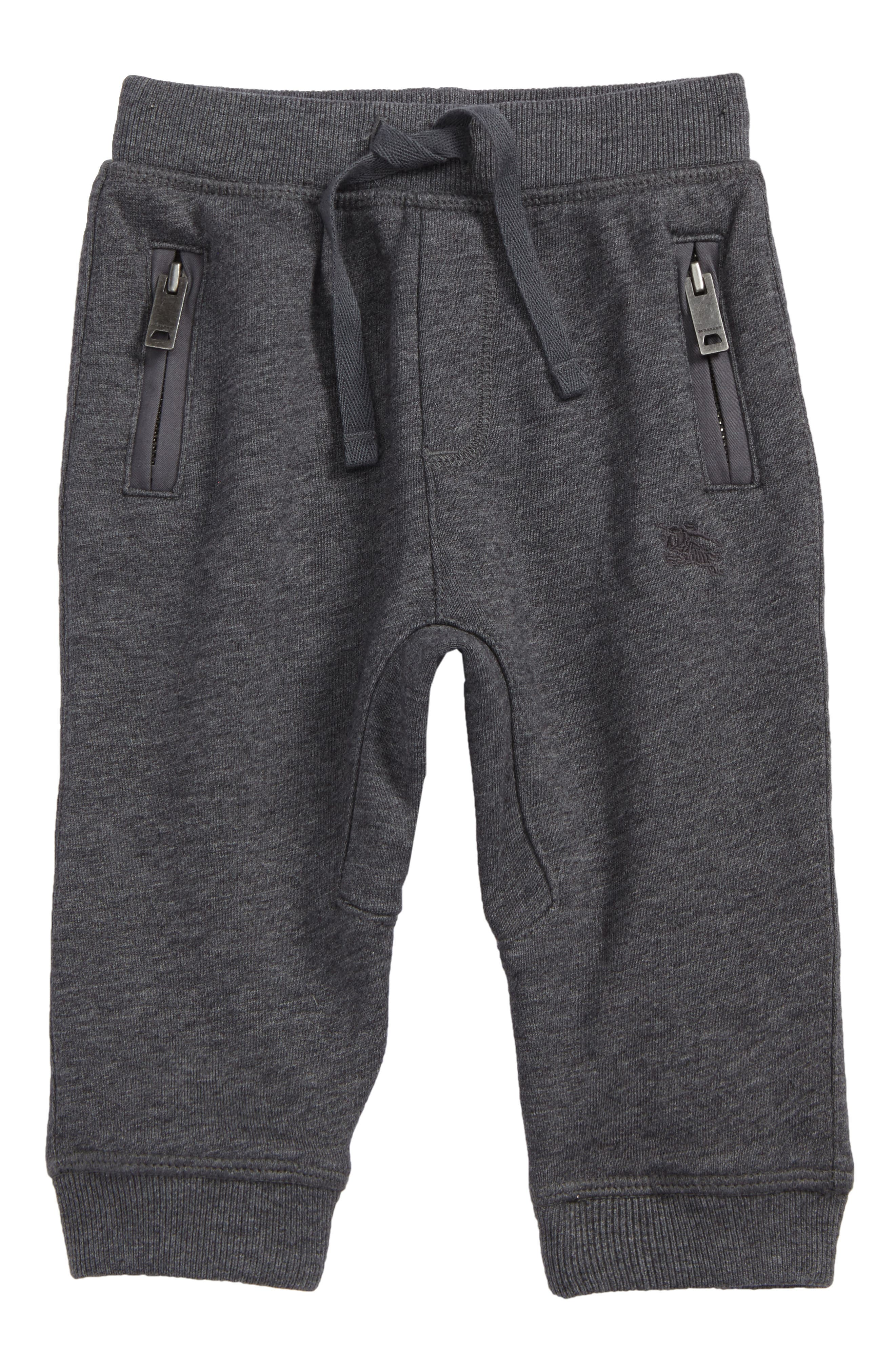 Mini Phill Jogger Sweatpants,                             Main thumbnail 1, color,                             Charcoal Melange