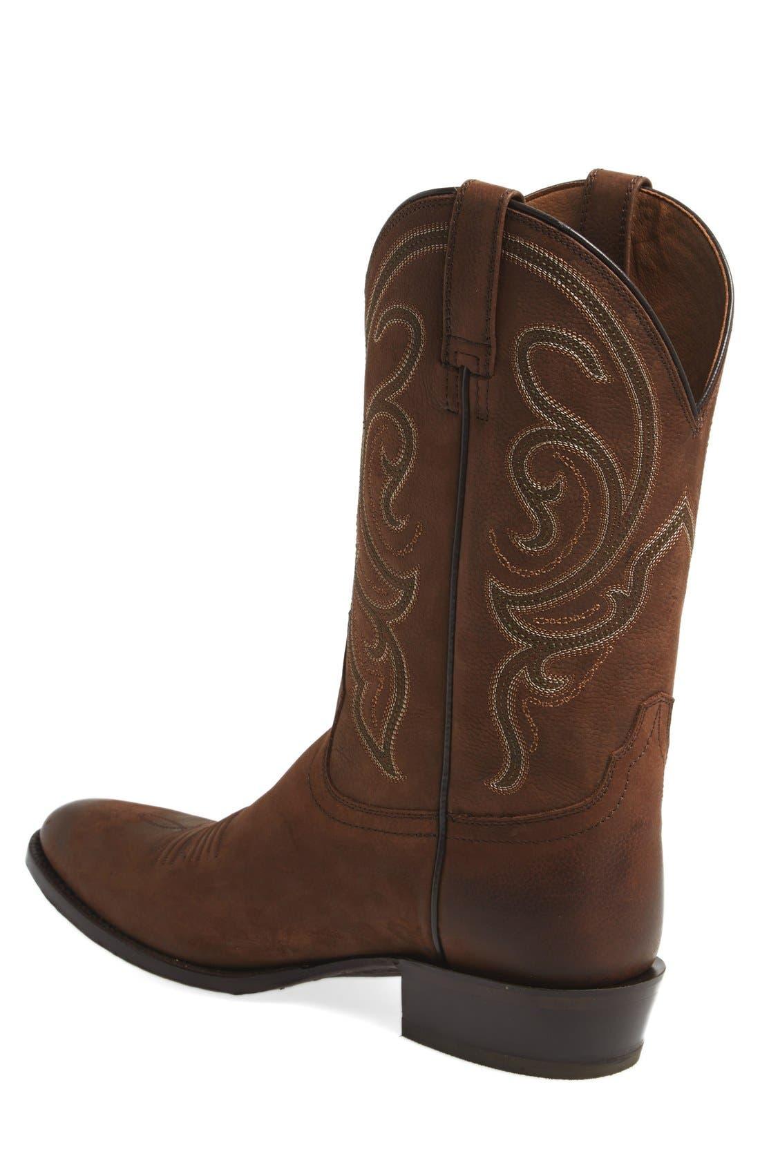 Alternate Image 2  - Ariat 'Bandera' Cowboy Boot (Men)