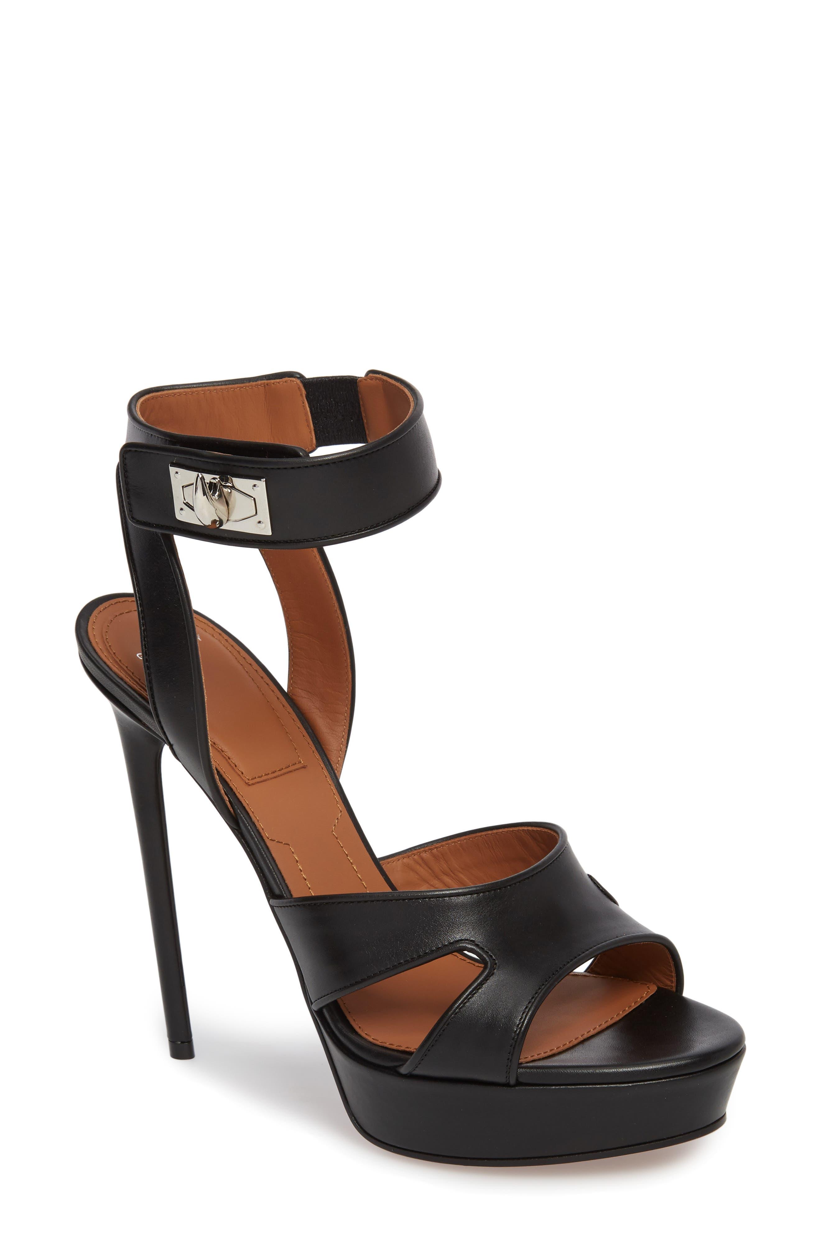 Main Image - Givenchy Shark Tooth Platform Sandal (Women)