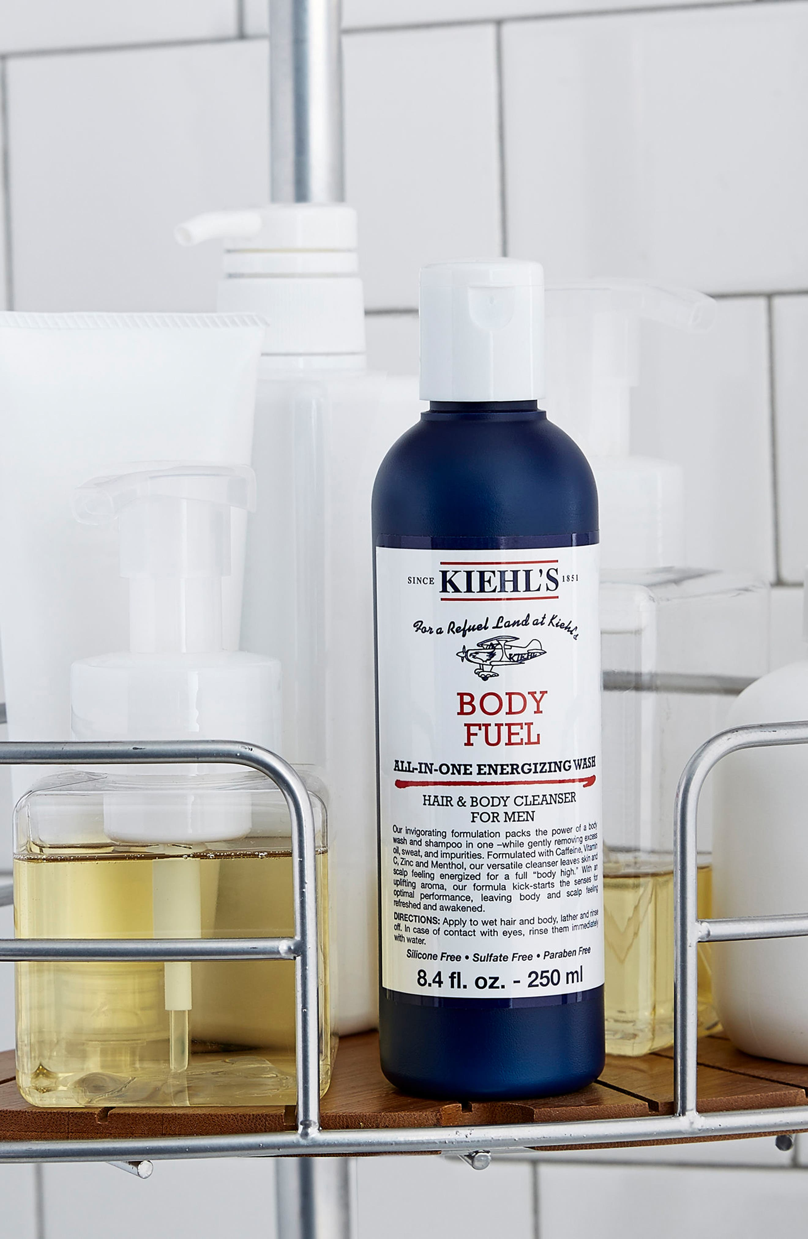 Alternate Image 4  - Kiehl's Since 1851 'Body Fuel' All-in-One Energizing & Conditioning Wash