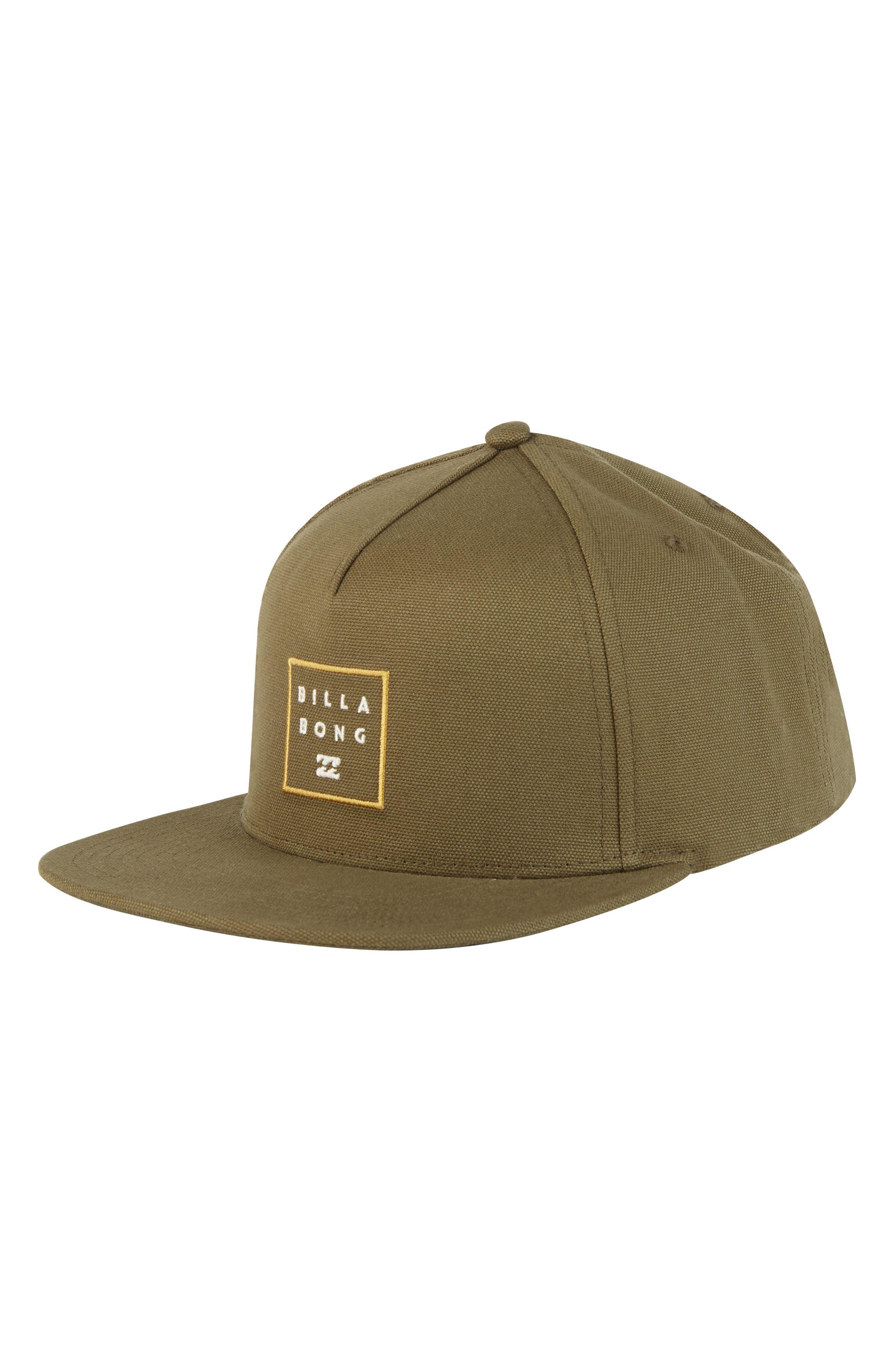 Stacked Snapback Baseball Cap,                         Main,                         color, Olive
