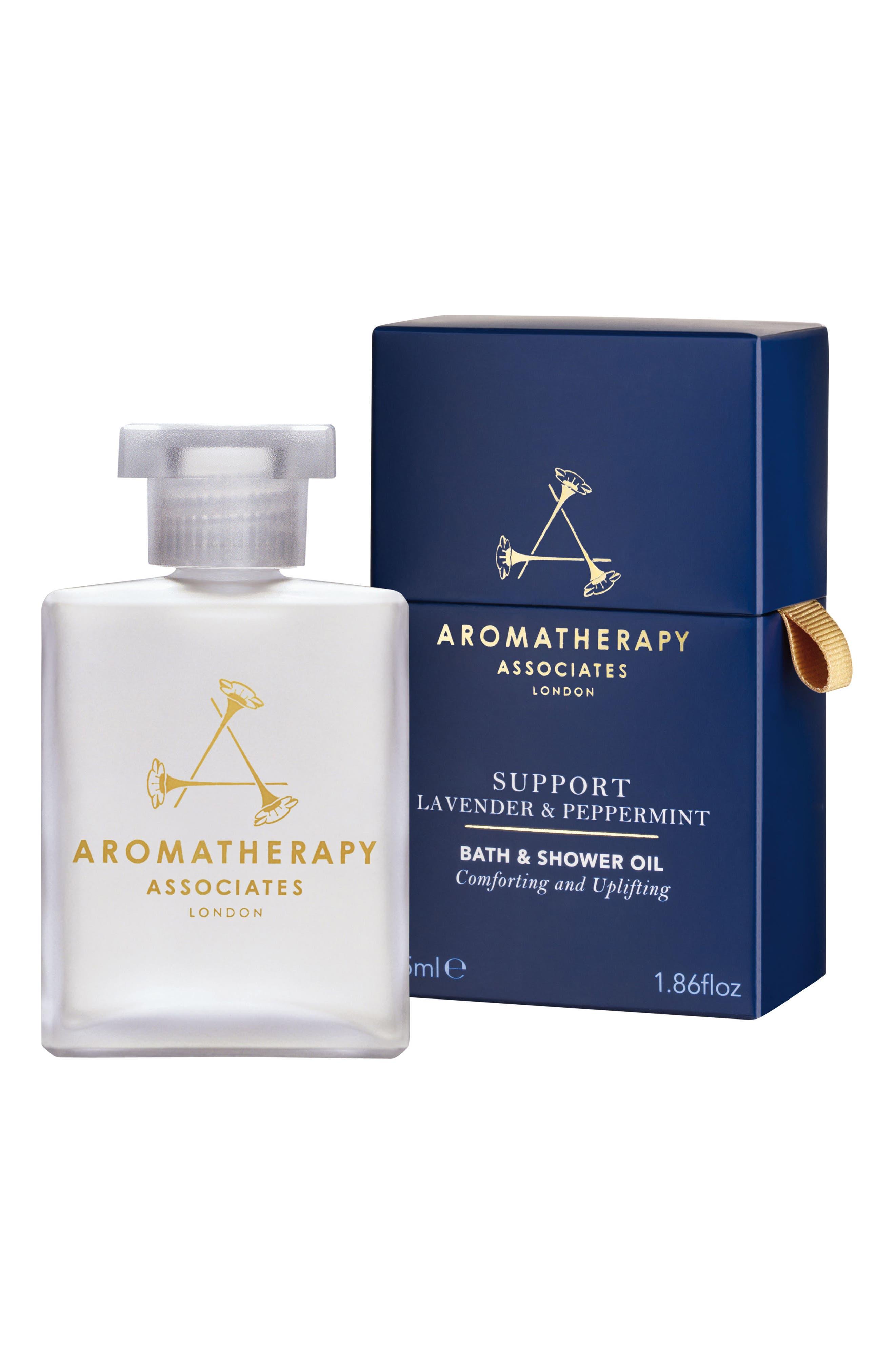 Support Lavender & Peppermint Bath & Shower Oil,                         Main,                         color, Support Lavender Peppermint