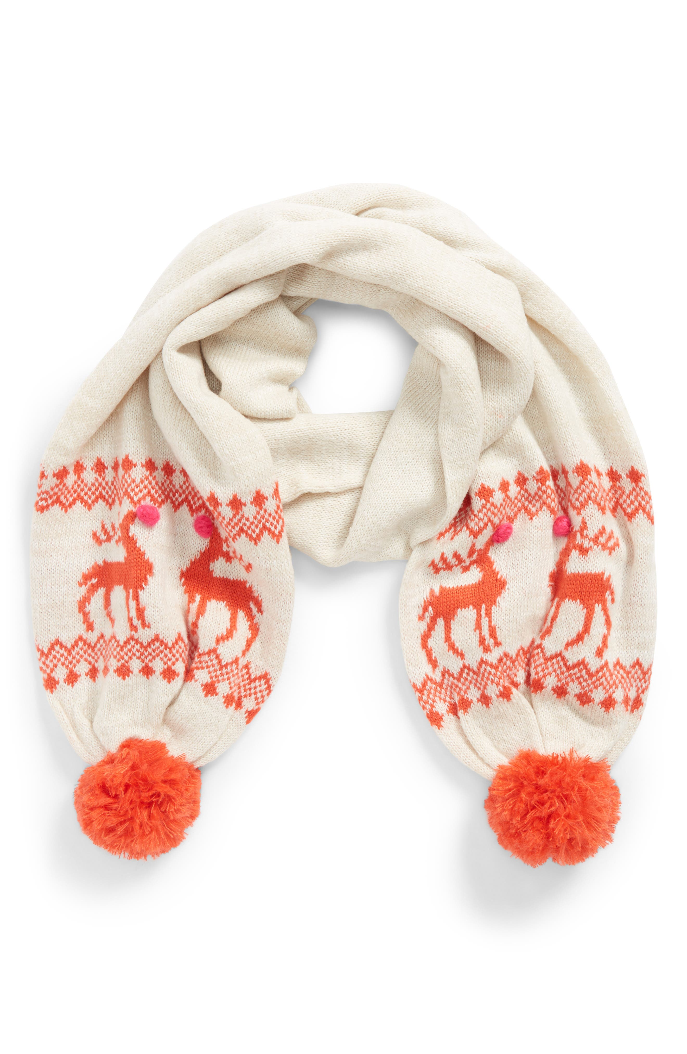 Mini Boden Festive Scarf (Little Girls & Big Girls)