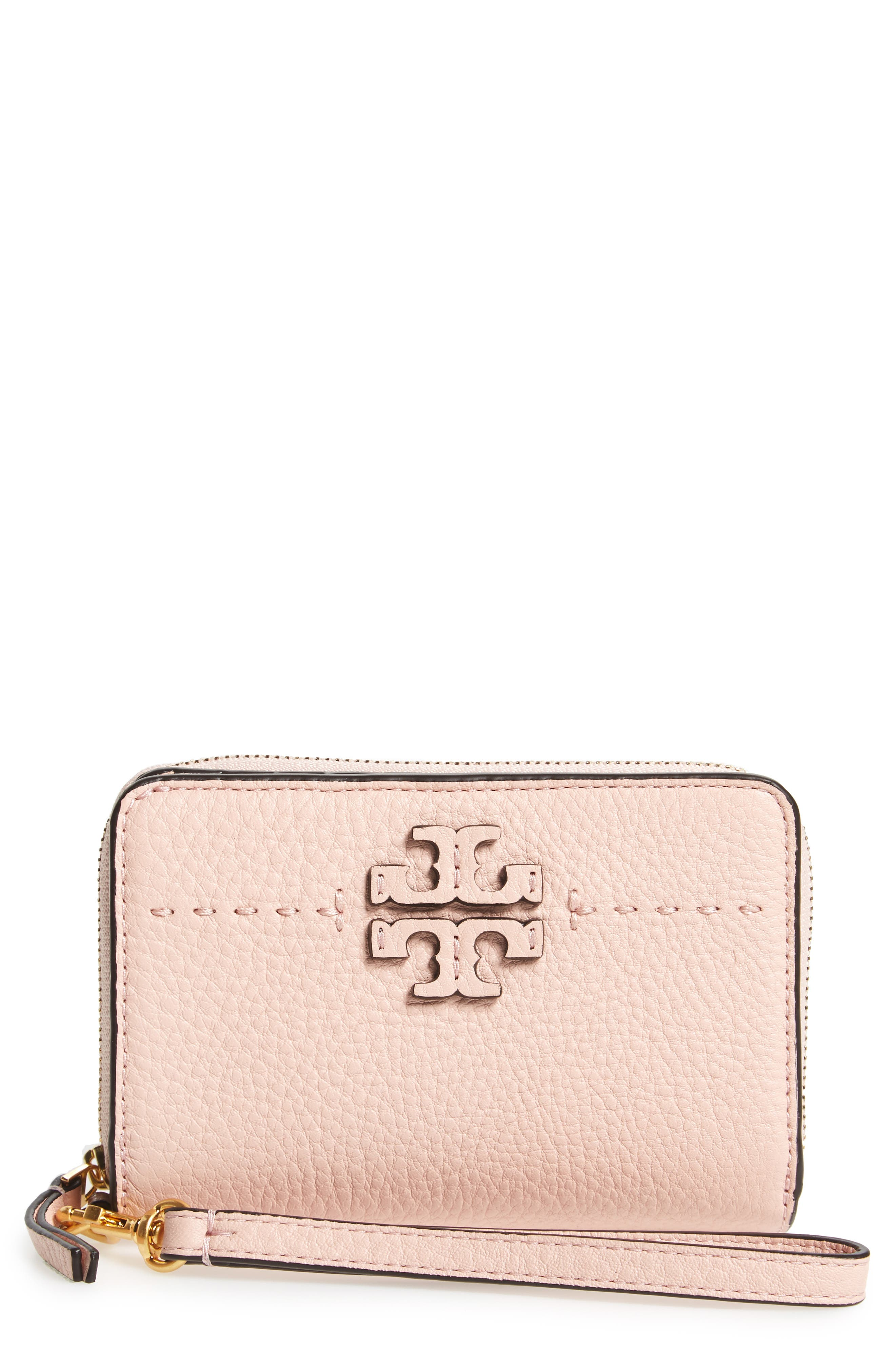 Tory Burch McGraw Leather Bifold Wallet