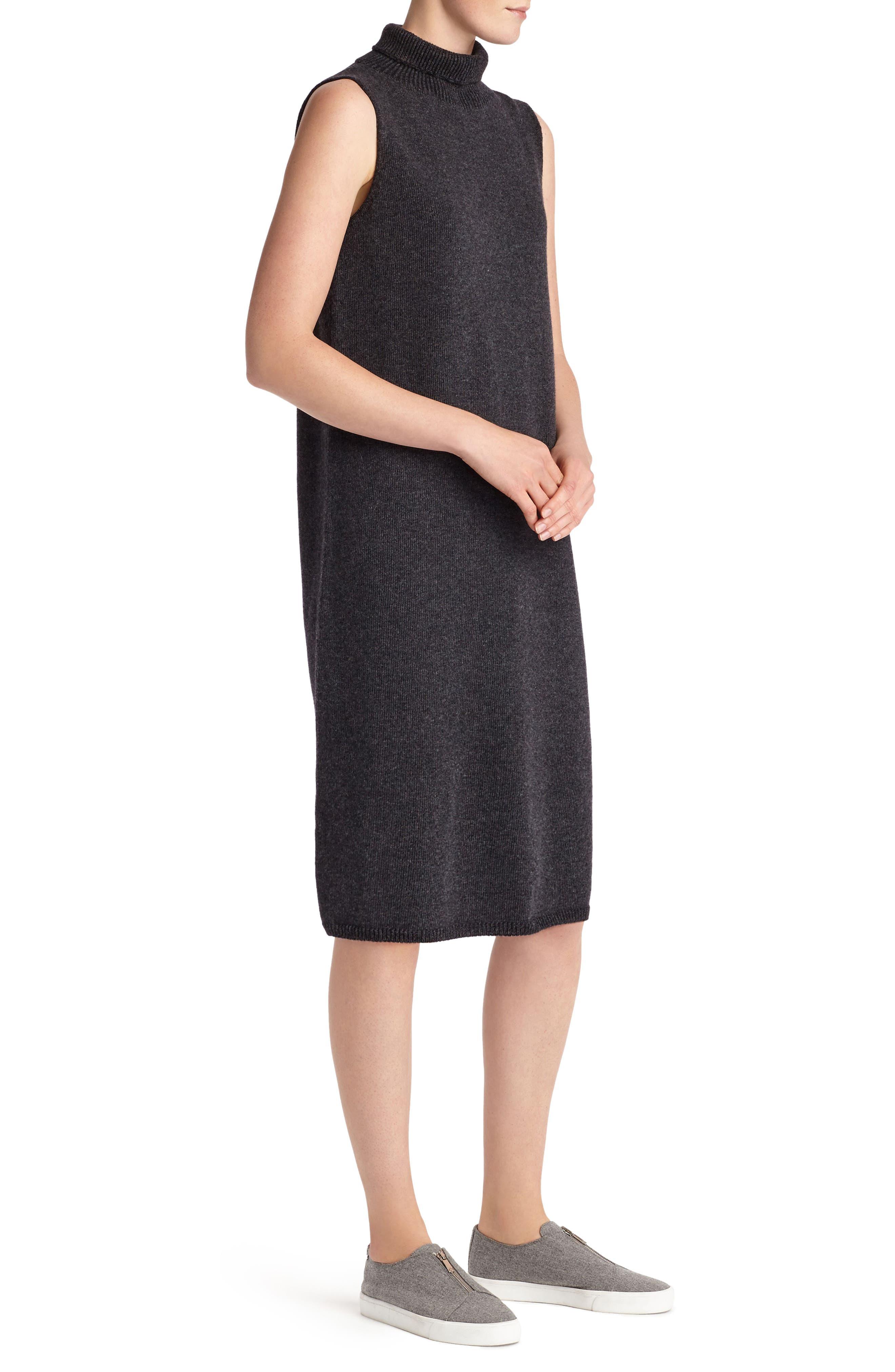 Alternate Image 4  - Lafayette 148 New York Vanise Merino Wool & Cashmere Sweater Dress