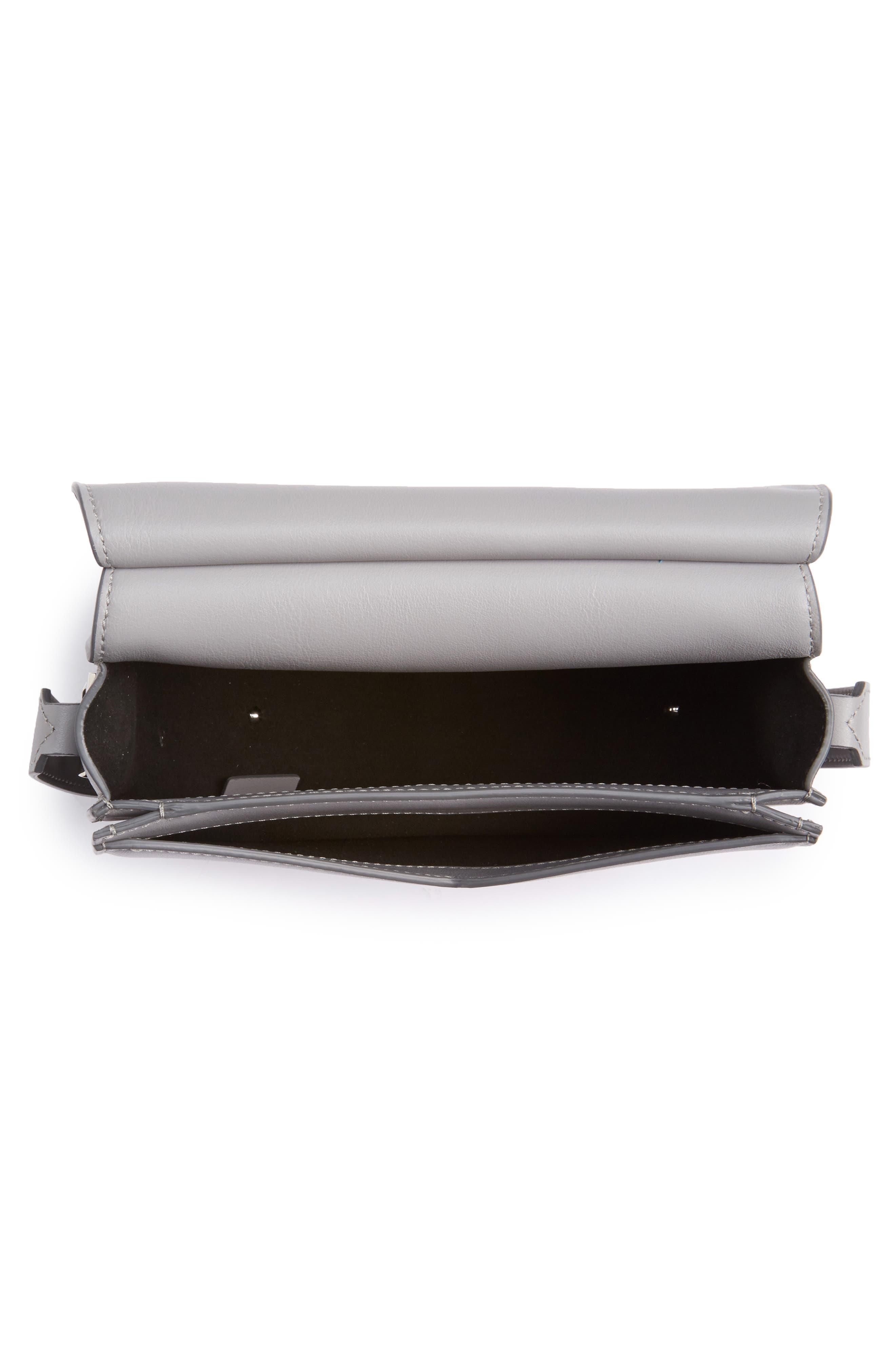 Alternate Image 4  - Givenchy Mini Infinity Calfskin Leather Saddle Bag