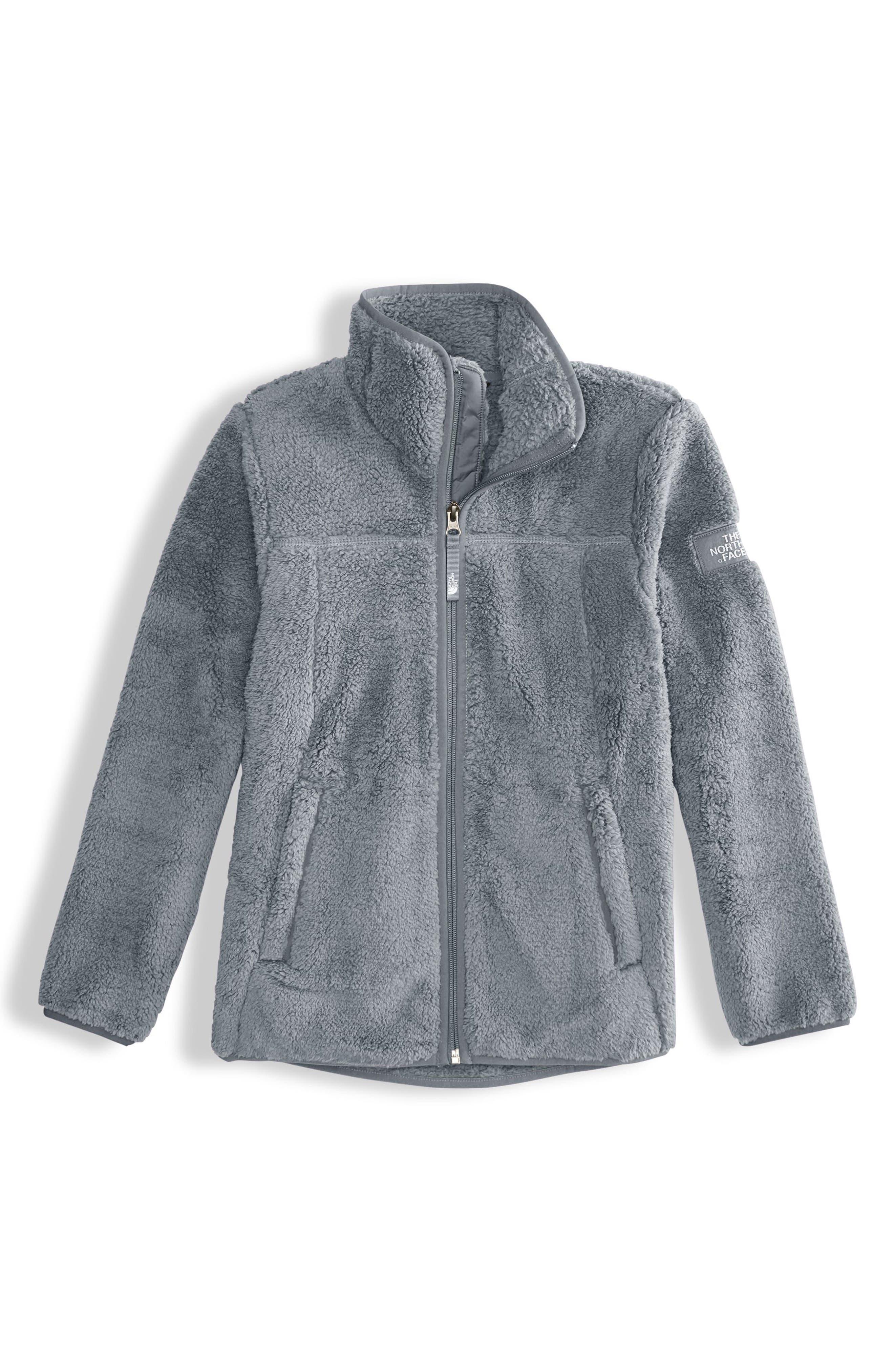 Campshire Fleece Jacket,                             Main thumbnail 1, color,                             Mid Grey