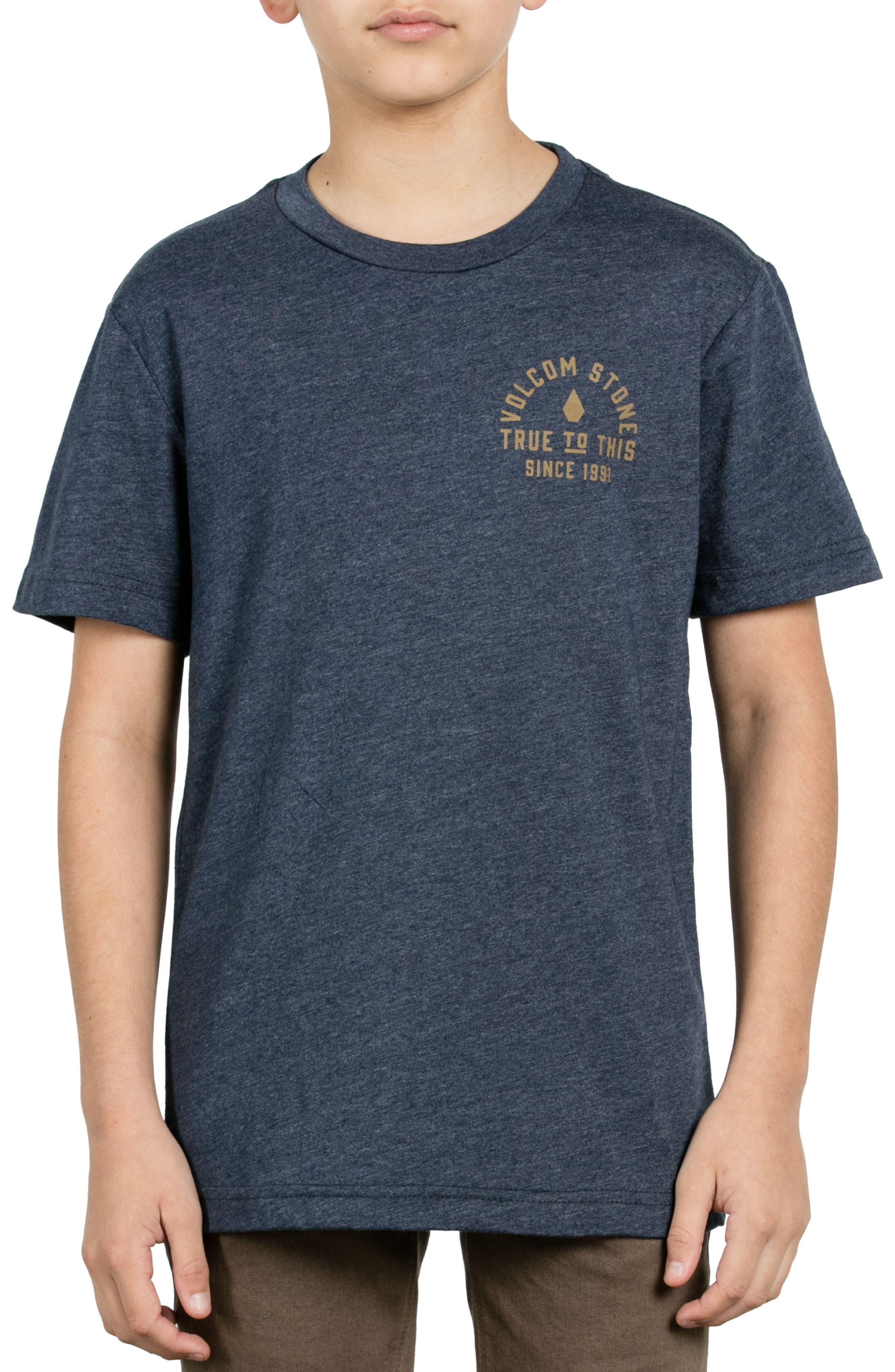 Stone Co. T-Shirt,                             Alternate thumbnail 3, color,                             Indigo