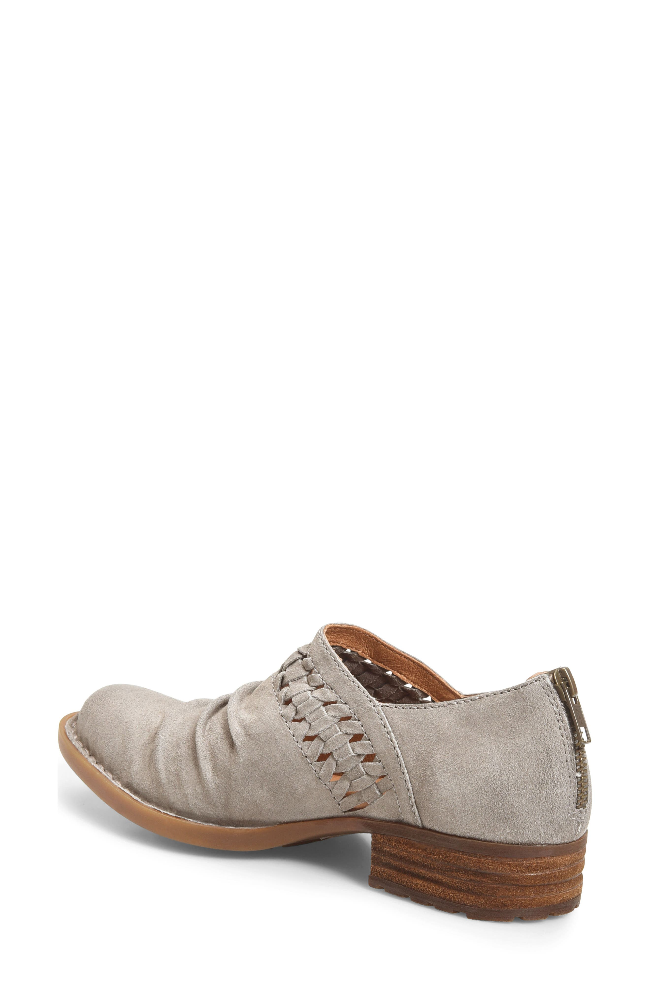 Born Katharina Bootie,                             Alternate thumbnail 2, color,                             Grey Suede