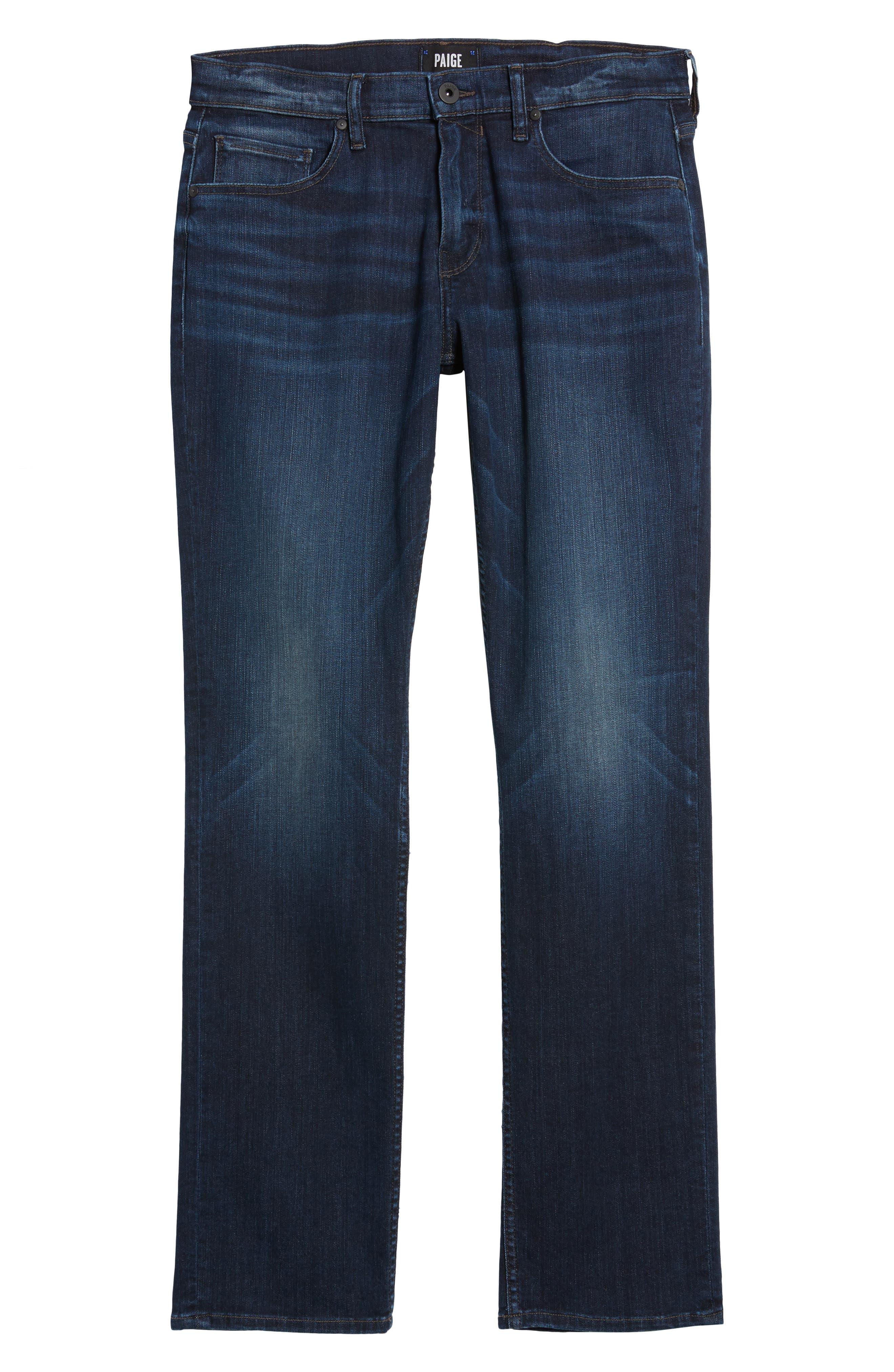 Transcend - Federal Slim Straight Leg Jeans,                             Alternate thumbnail 6, color,                             Graham